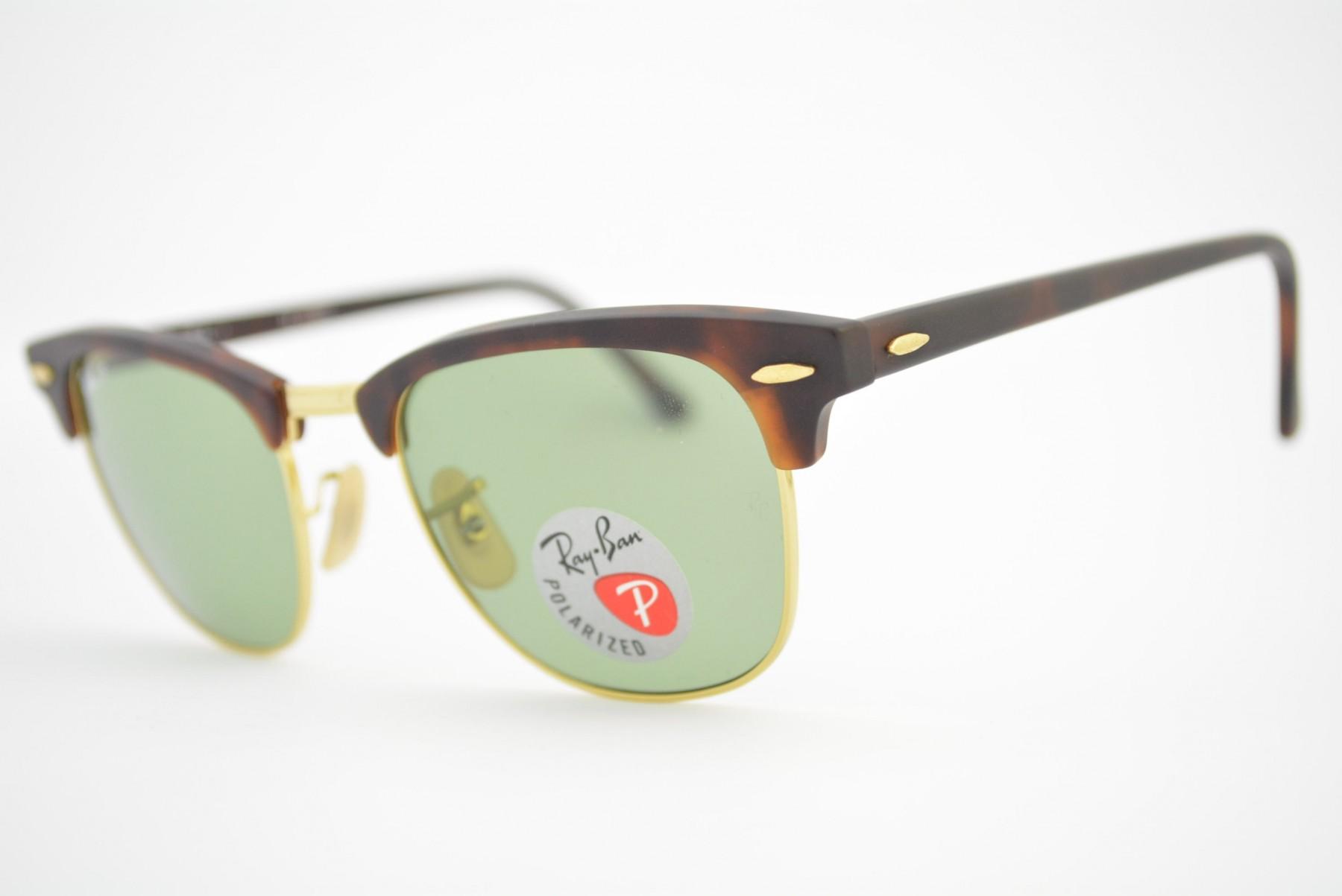 a748ecf99 óculos de sol Ray Ban Clubmaster mod rb3016 1145/O5 Polarizado. Código: rb3016  1145/o5