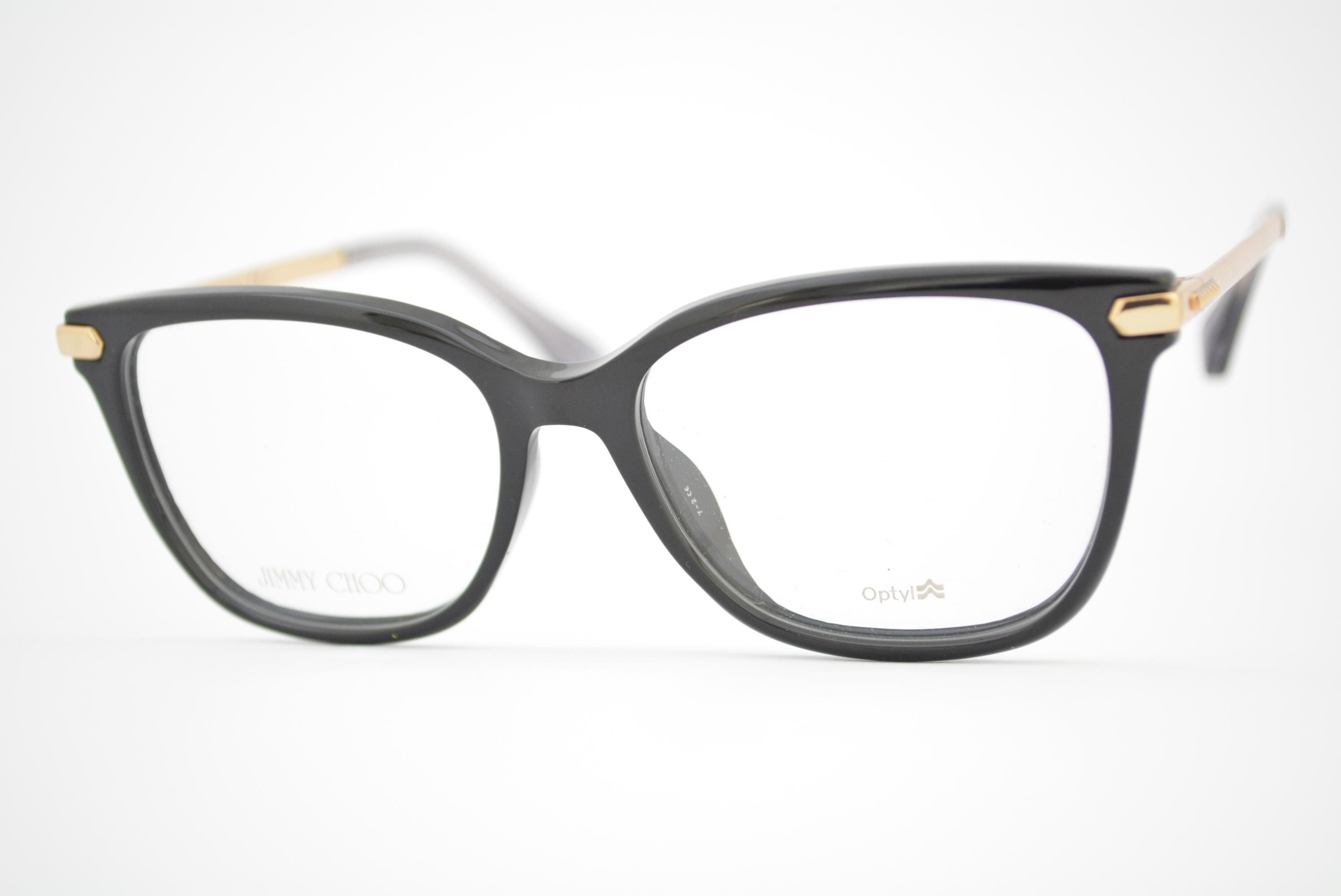armação de óculos jimmy Choo mod jc174 N08