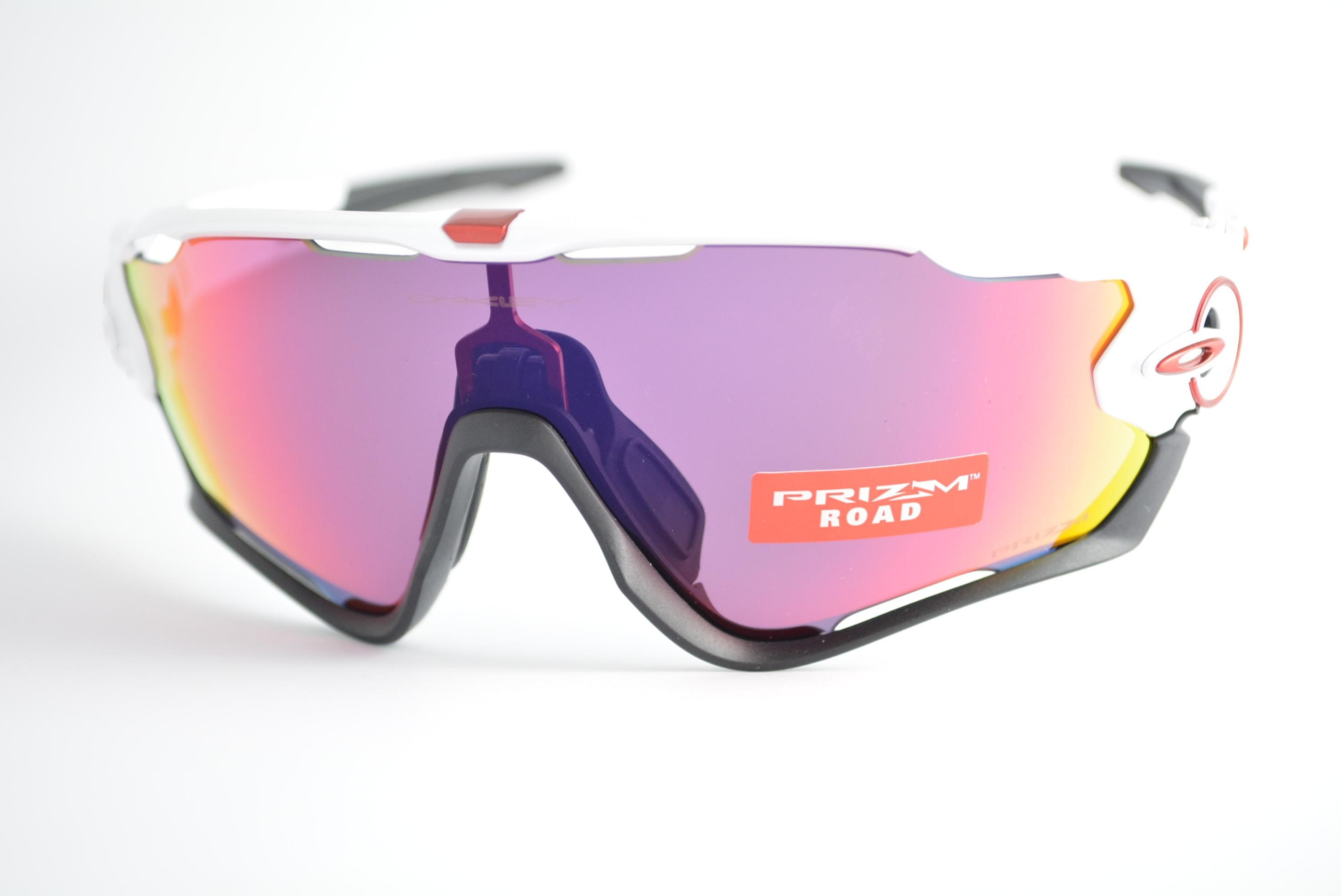 c8cd78b33177a óculos de sol Oakley mod Jawbreaker polished white w prizm road 9290 ...