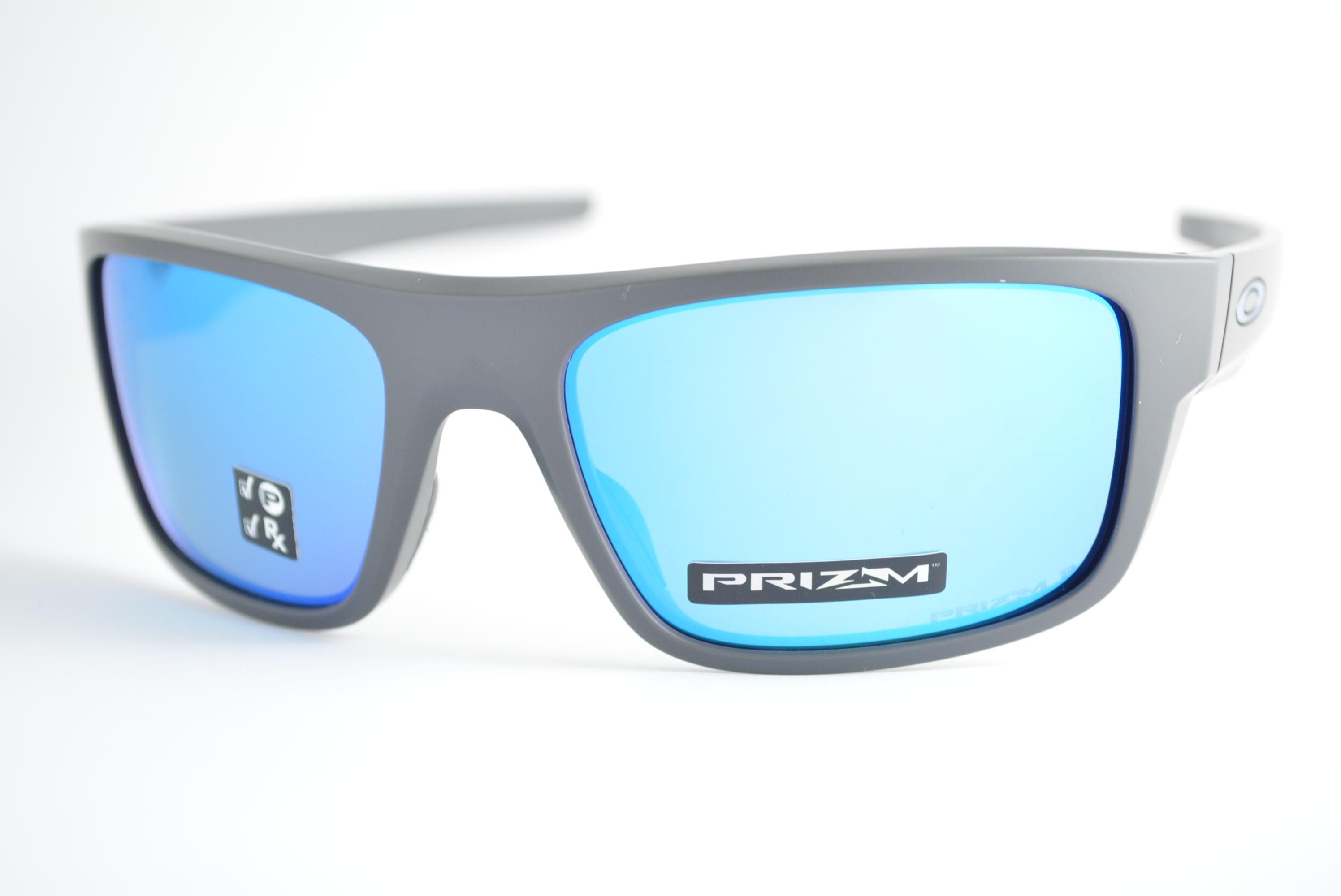 óculos de sol Oakley mod Drop Point matte dark grey w prizm sapphire  polarized 9367 7e8d2c316a