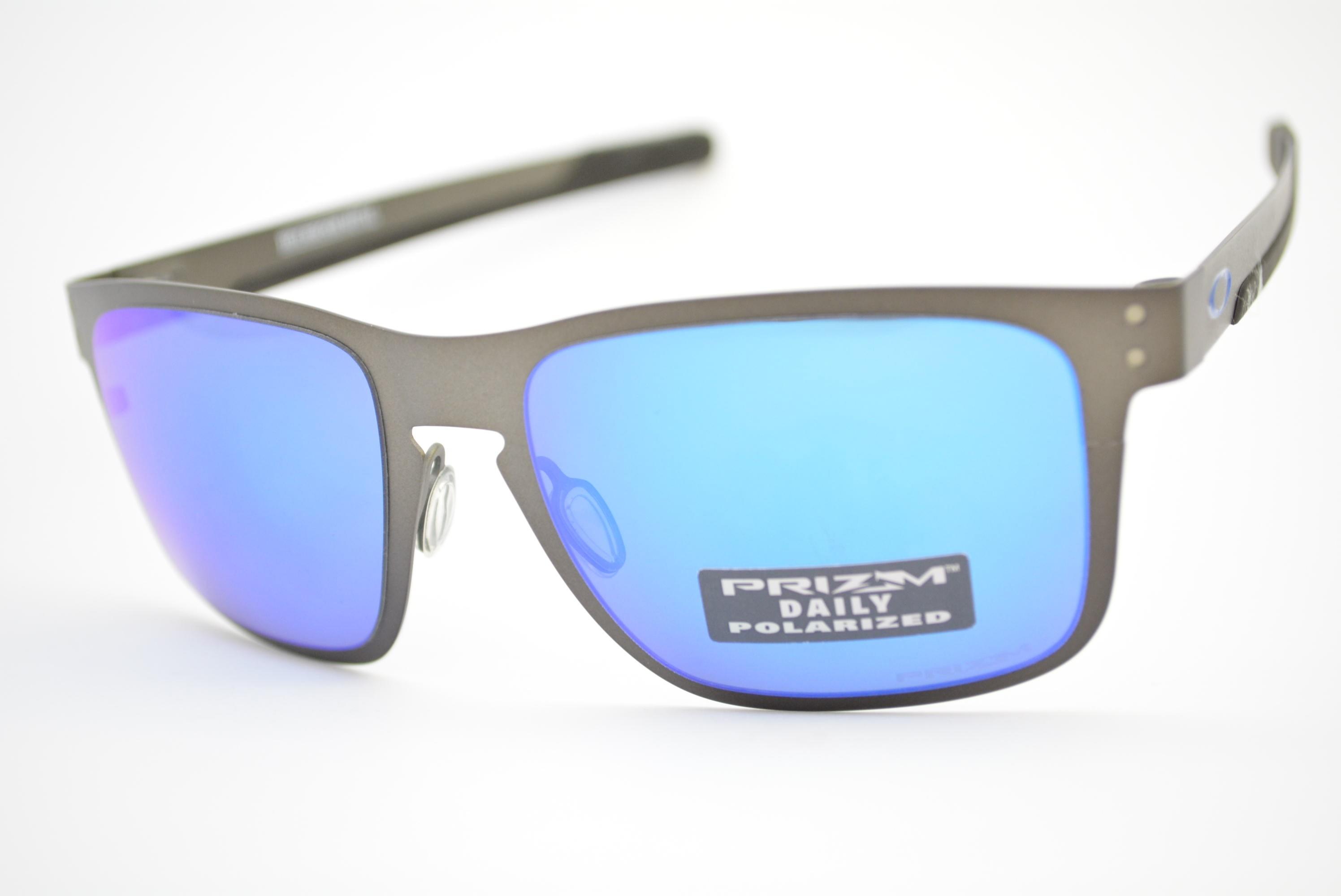 óculos de sol Oakley Holbrook Metal prizm sapphire polarized 4123-07 ... 0b61a2e846