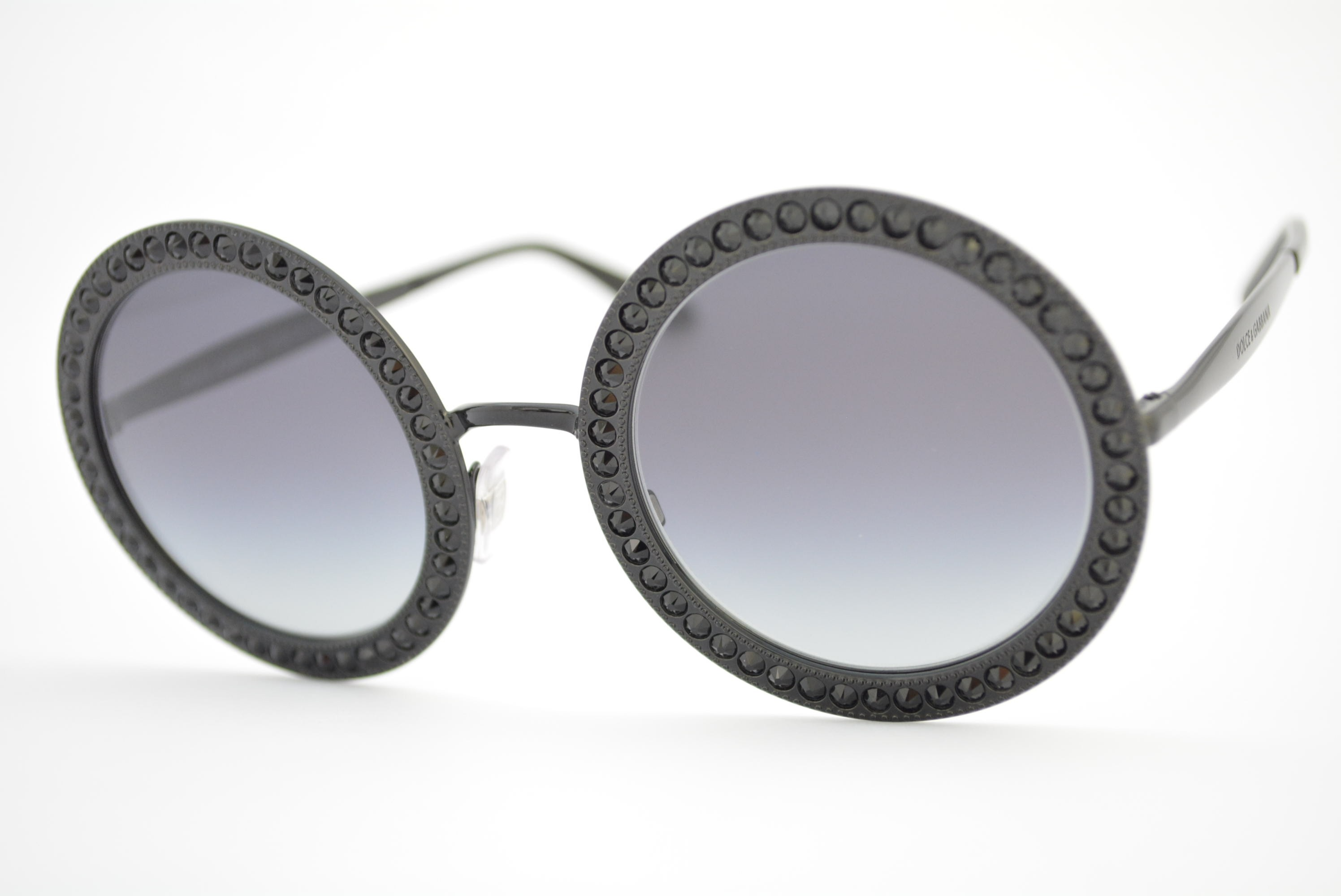 óculos de sol Dolce   Gabbana mod DG2170-B 01 8g Mambo Collection ... f913be52b4