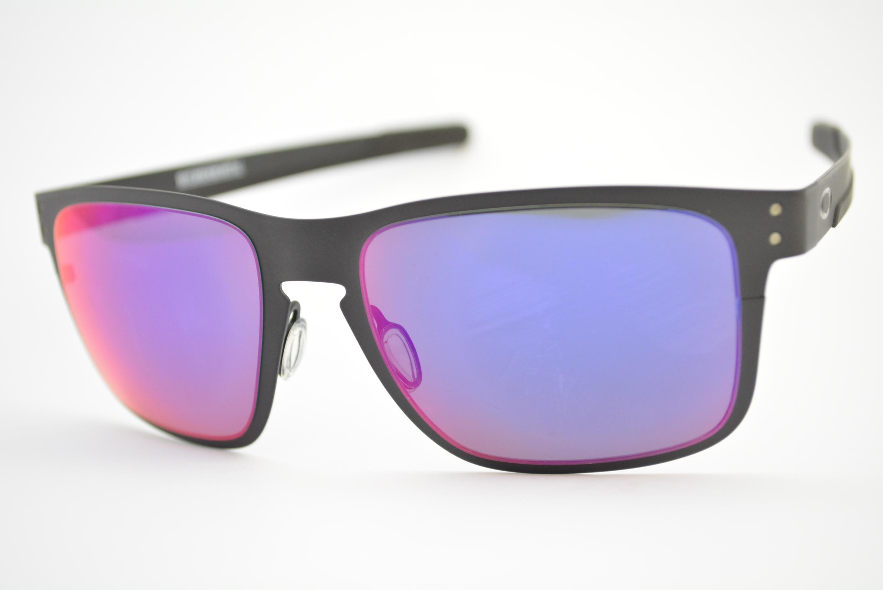óculos de sol Oakley Holbrook Metal matte black w red iridium 4123-0255 bbb3f5eb5f