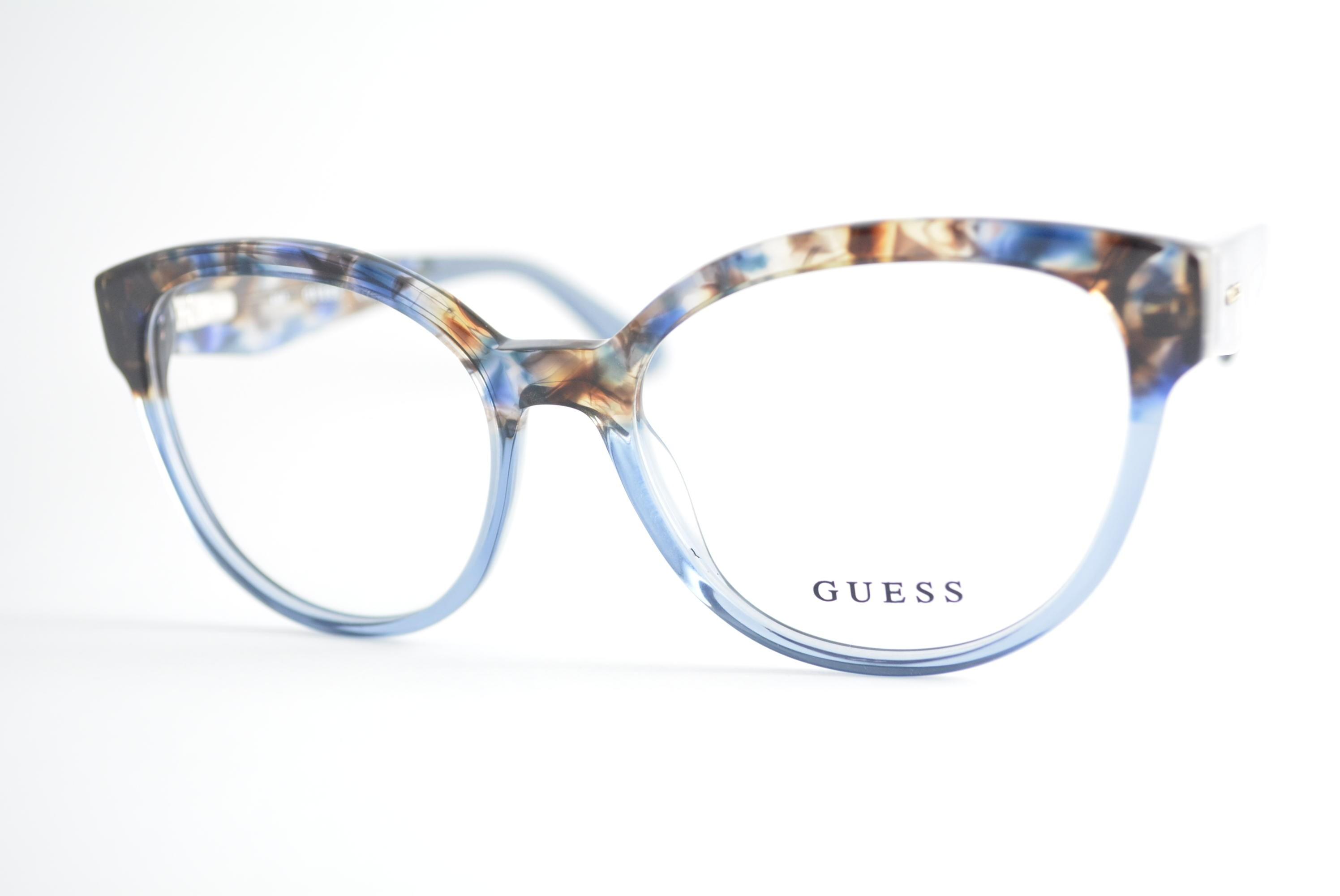 7e9ff259bc7e0 armação de óculos Guess mod gu2651 092 Ótica Cardoso