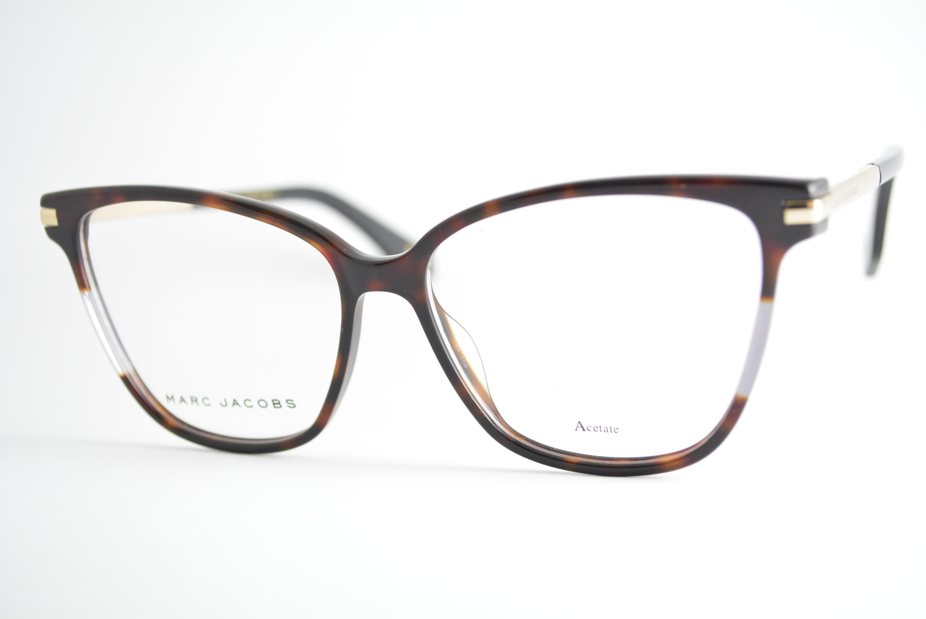 armação de óculos Marc Jacobs mod marc 299 086