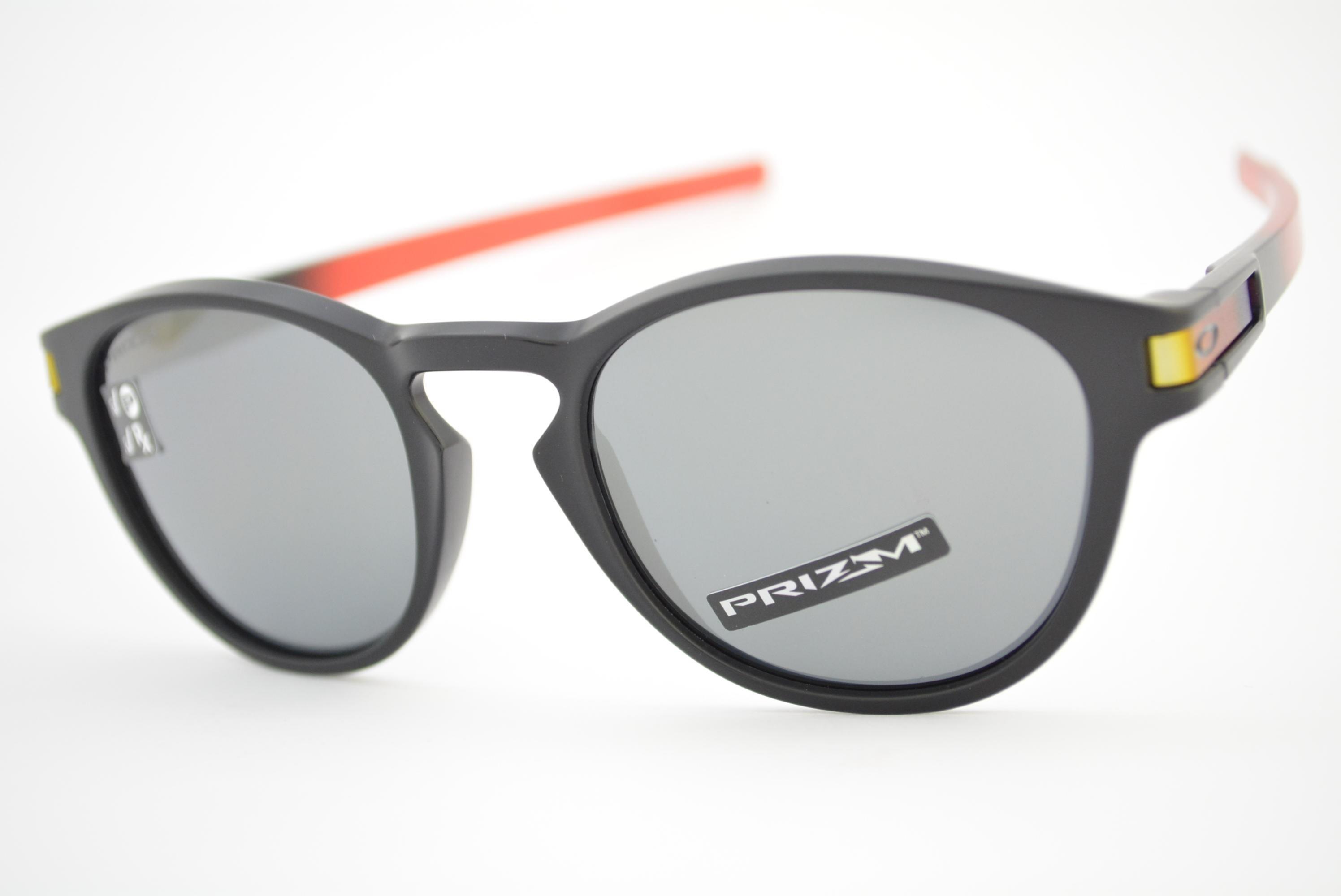 9b70d7f815ac0 óculos de sol Oakley mod Latch ruby fade w prizm black polarized 9265-2653