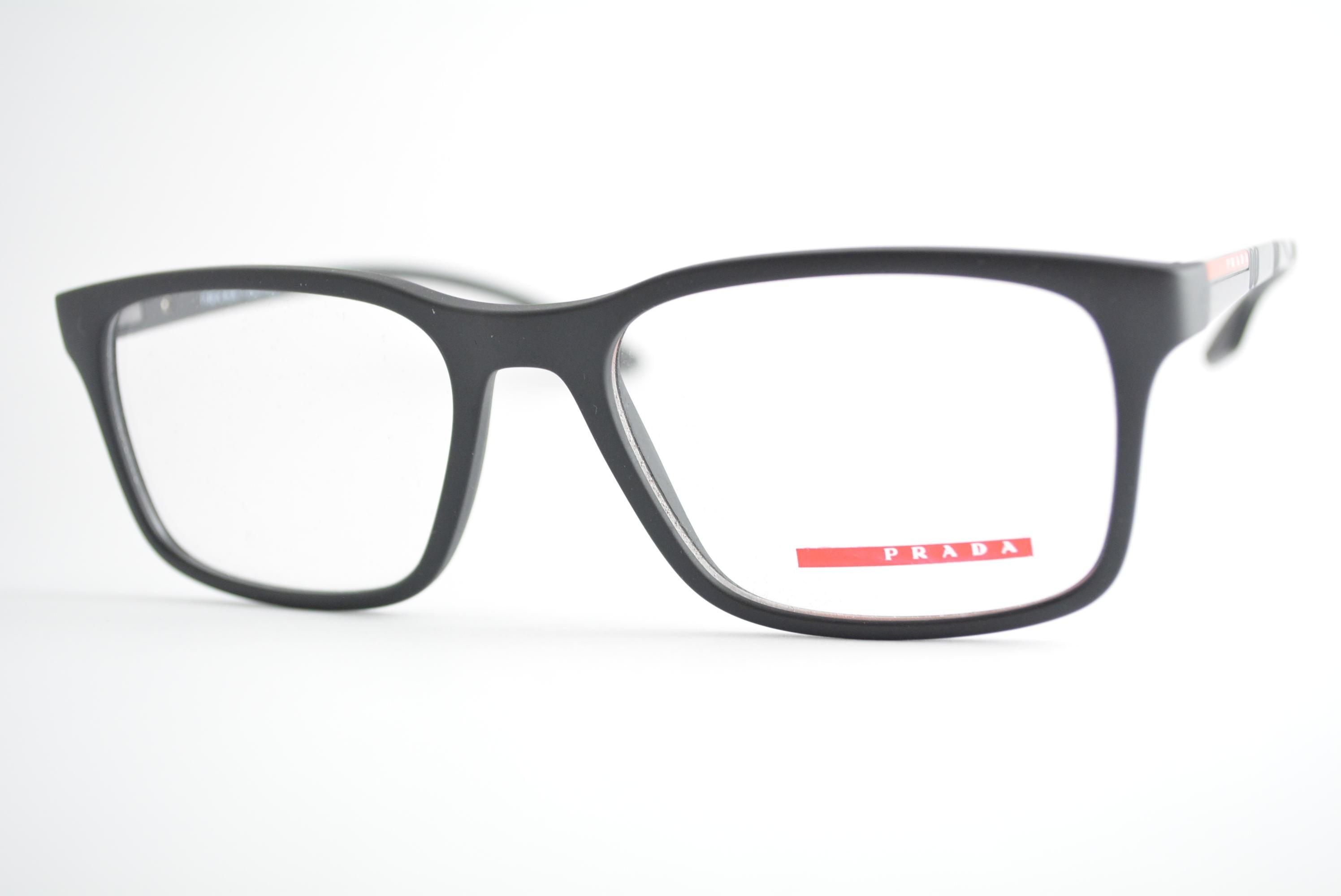 6cd5b1d0f3fda armação de óculos Prada Linea Rossa mod vps01L 1BO-1O1 Ótica Cardoso
