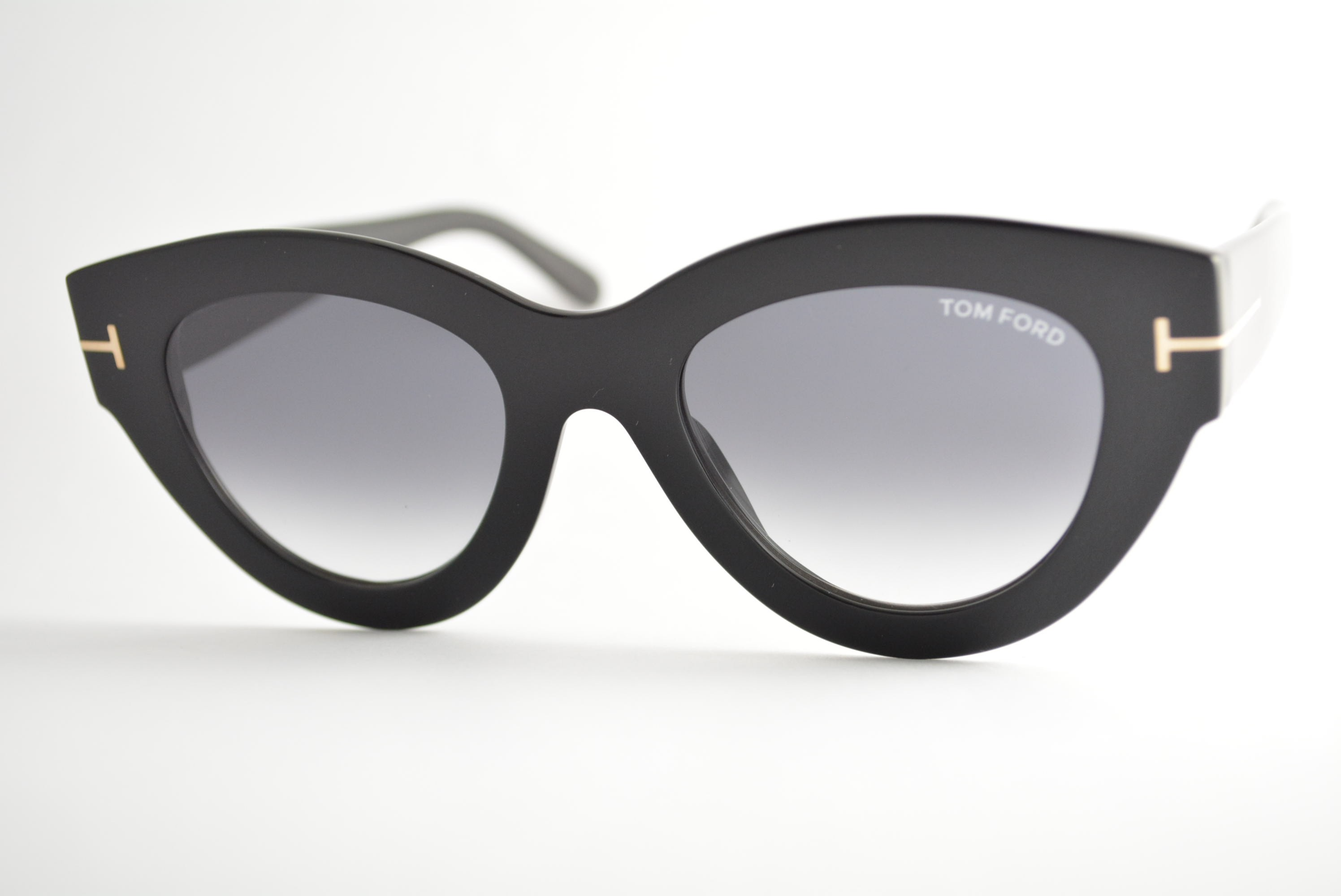 óculos de sol Tom Ford mod Slater tf658 01b