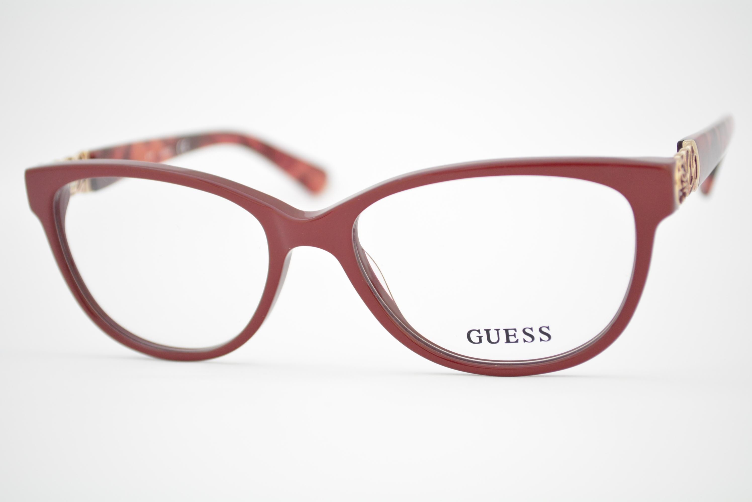 d8ce38eaa2bed armação de óculos Guess mod GU2491 066 Ótica Cardoso