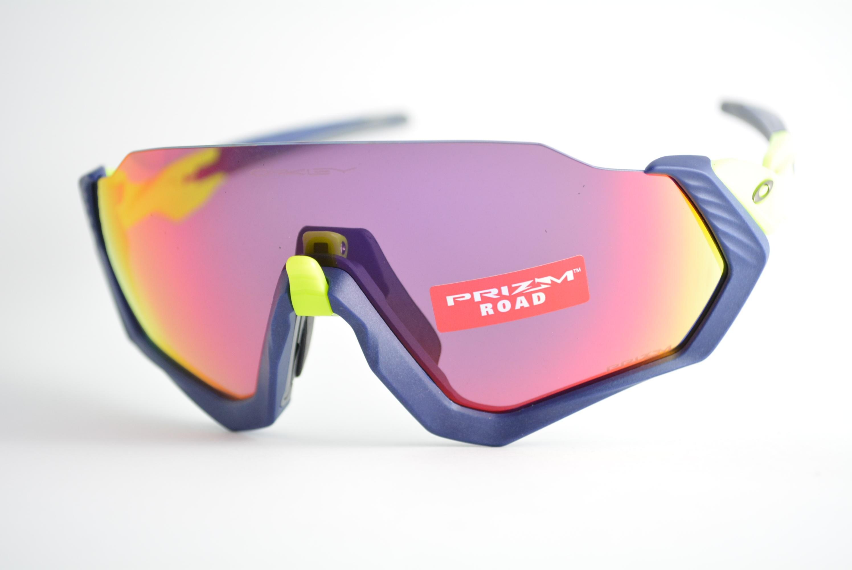 0f0ef338e0ebe óculos de sol Oakley mod Flight Jacket matte navy w prizm road 9401-0537