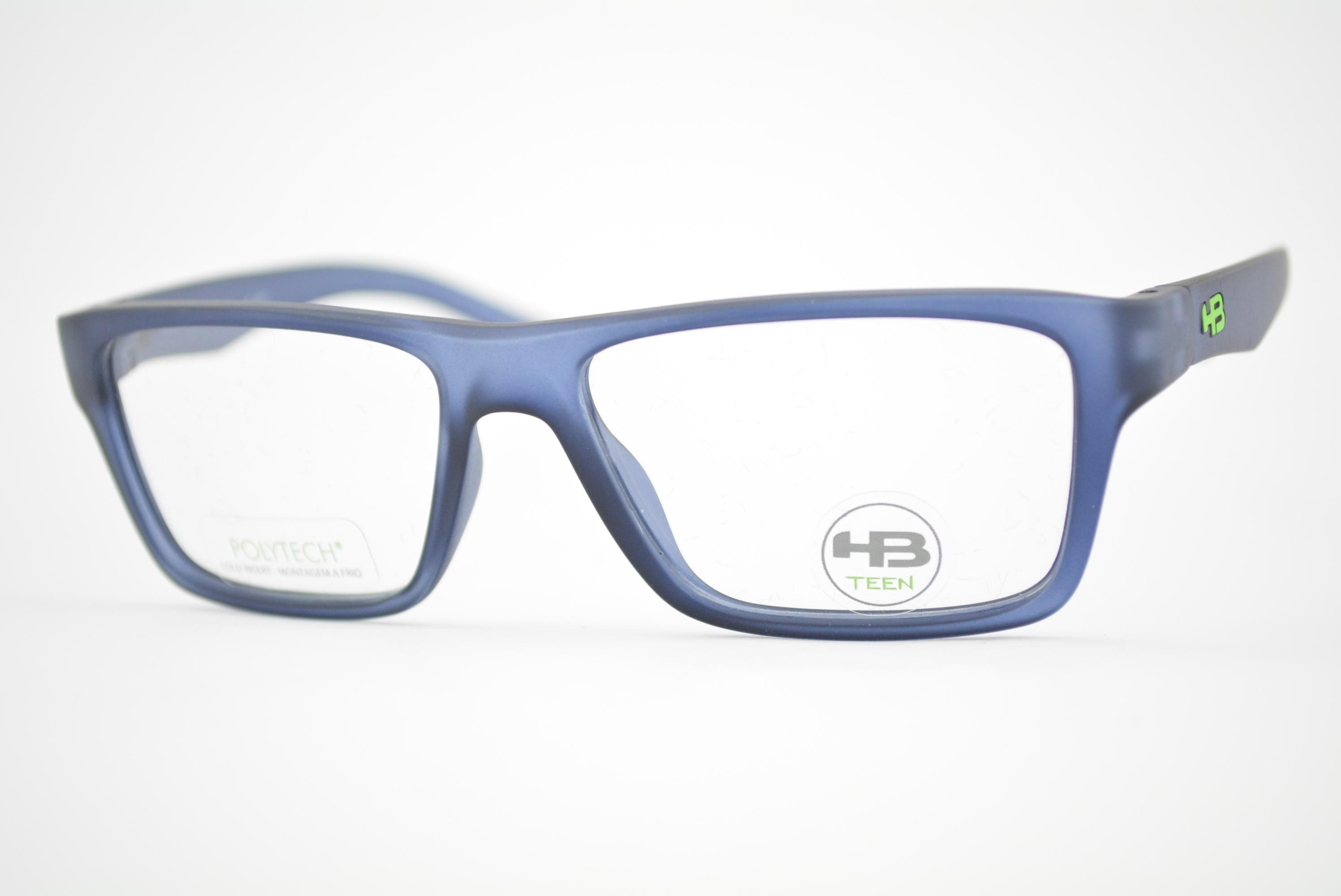 be24e58528258 armação de óculos HB Teen mod m.93126 c737 Ótica Cardoso