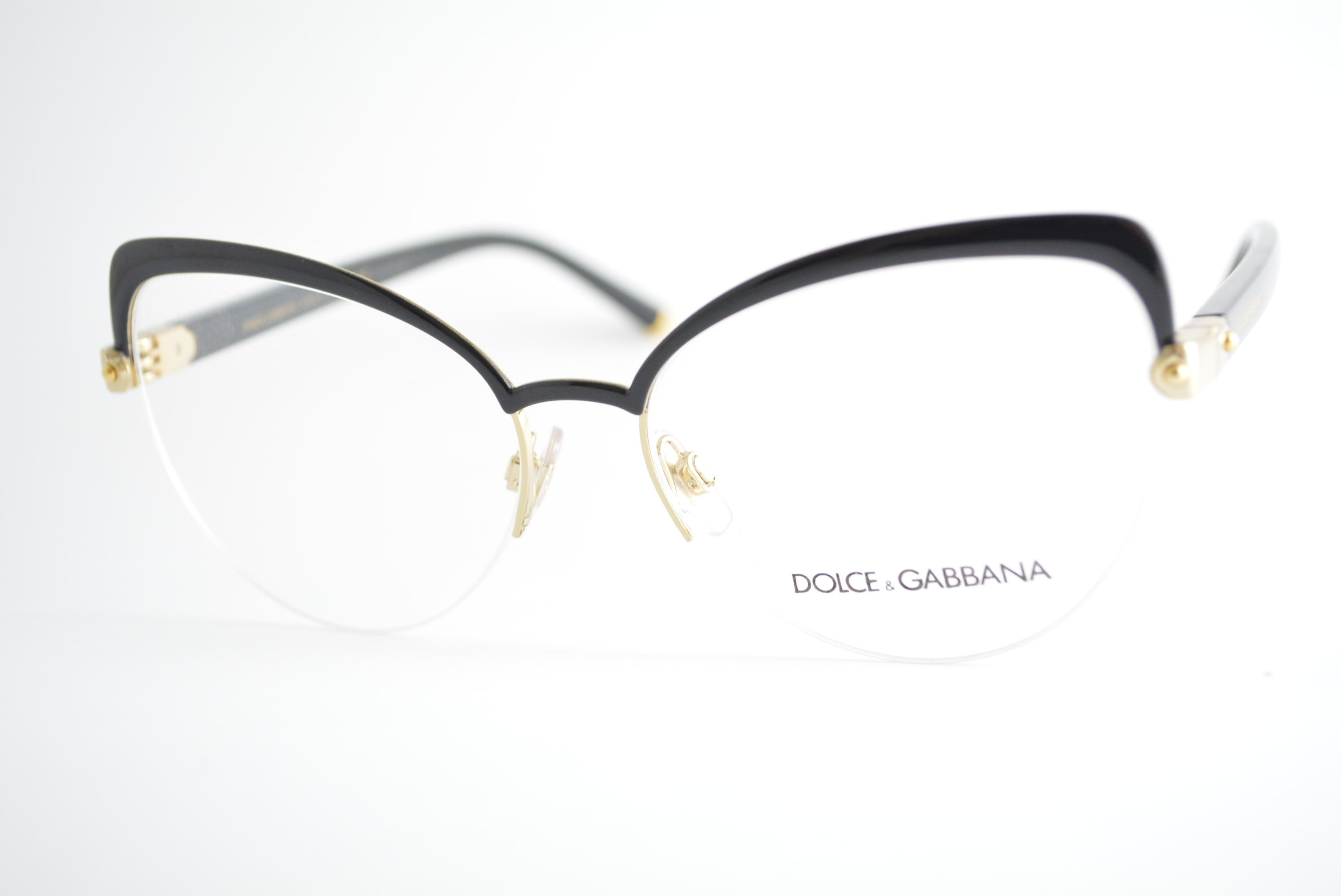 3faaebb37 armação de óculos Dolce & Gabbana mod DG1305 01 Ótica Cardoso