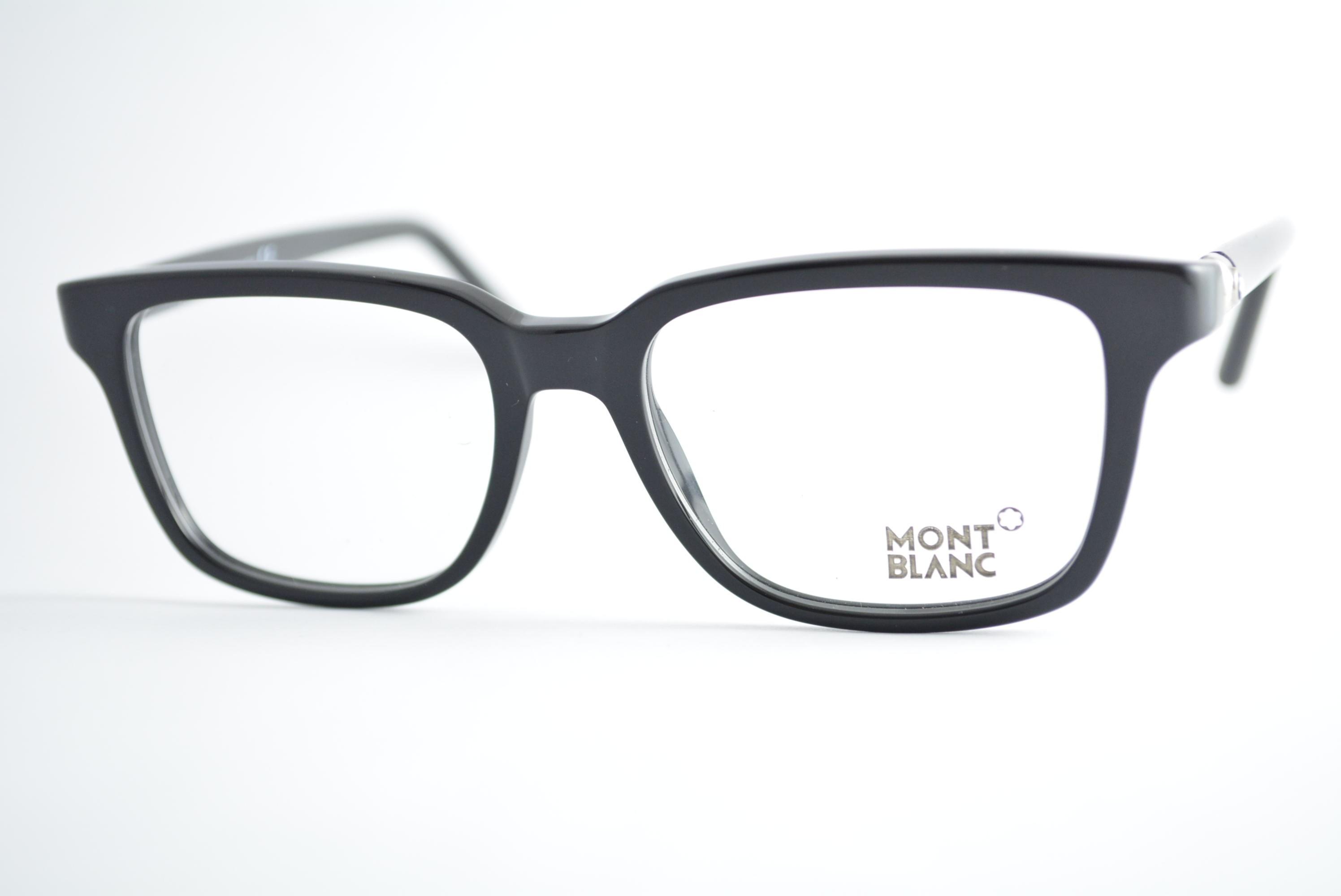 armação de óculos Mont Blanc mod mb486 001