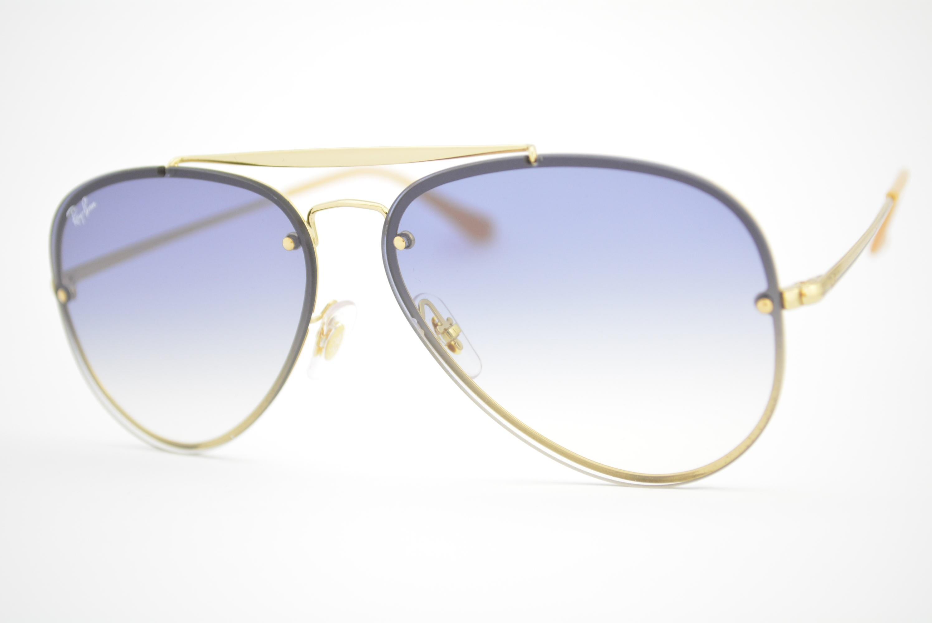 fbe81a4e0e93c óculos de sol Ray Ban Blaze mod rb3584-N 001 19 Ótica Cardoso