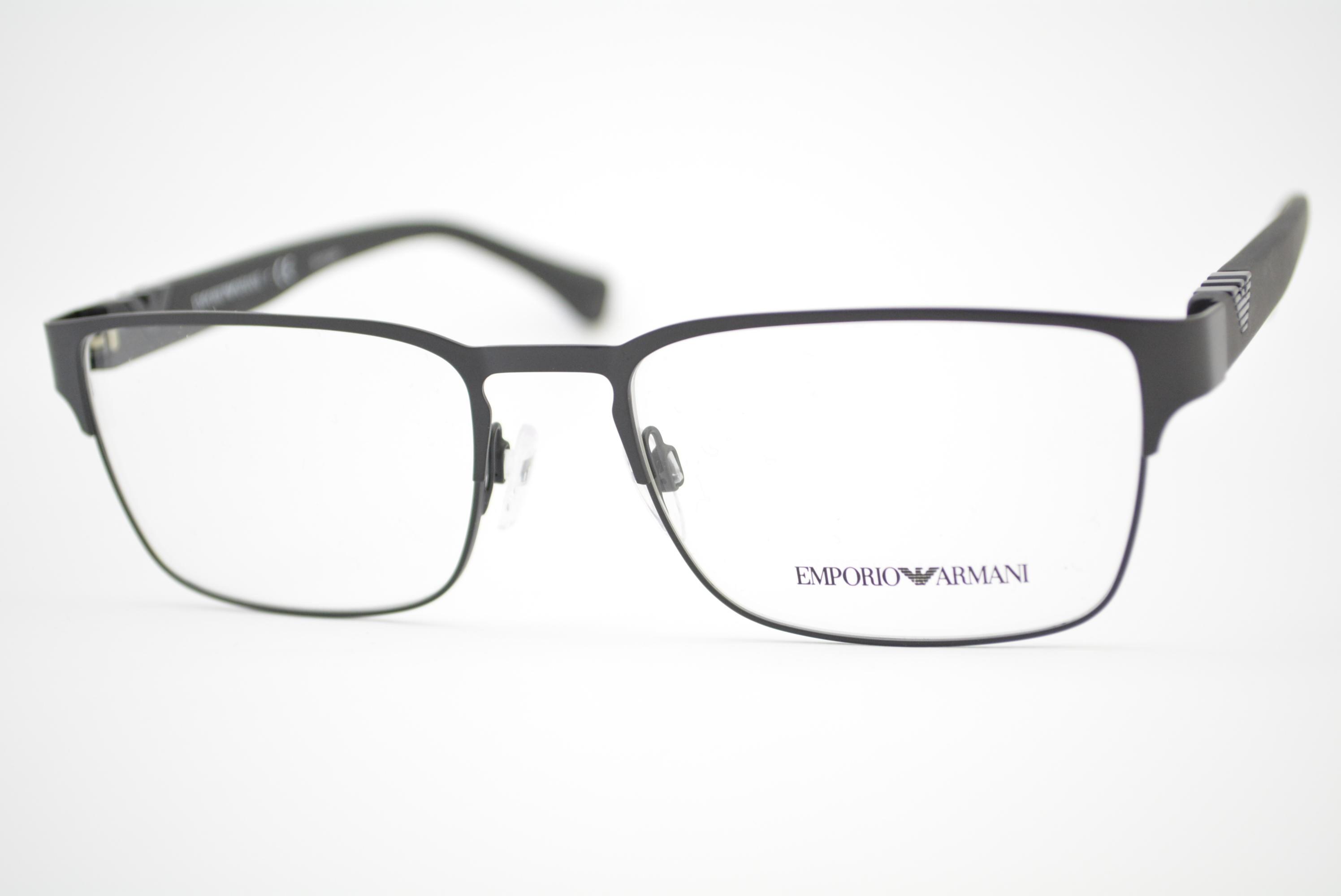 a713bdff6 armação de óculos Emporio Armani mod EA1027 3001 Ótica Cardoso