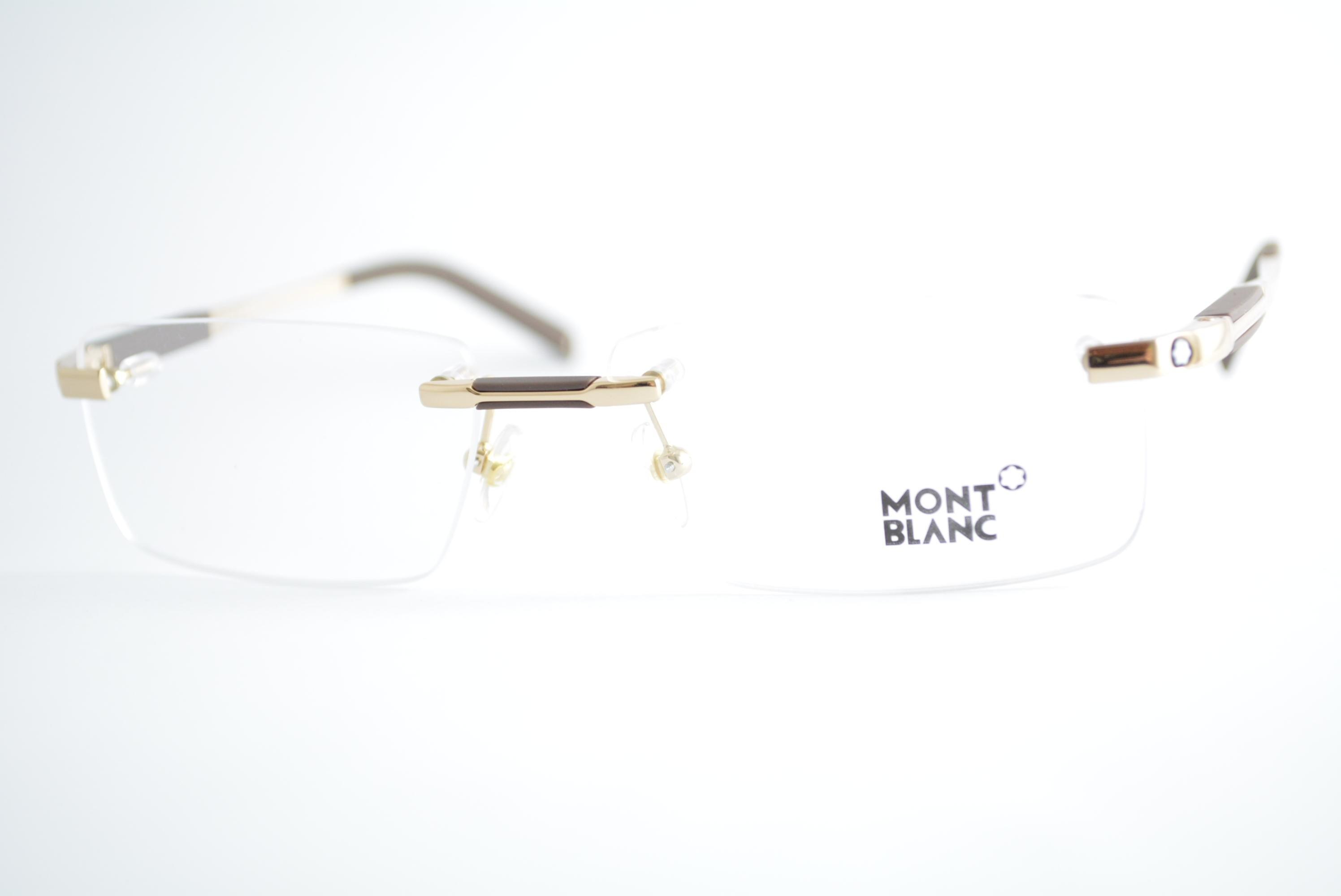 armação de óculos Mont Blanc mod mb349 028
