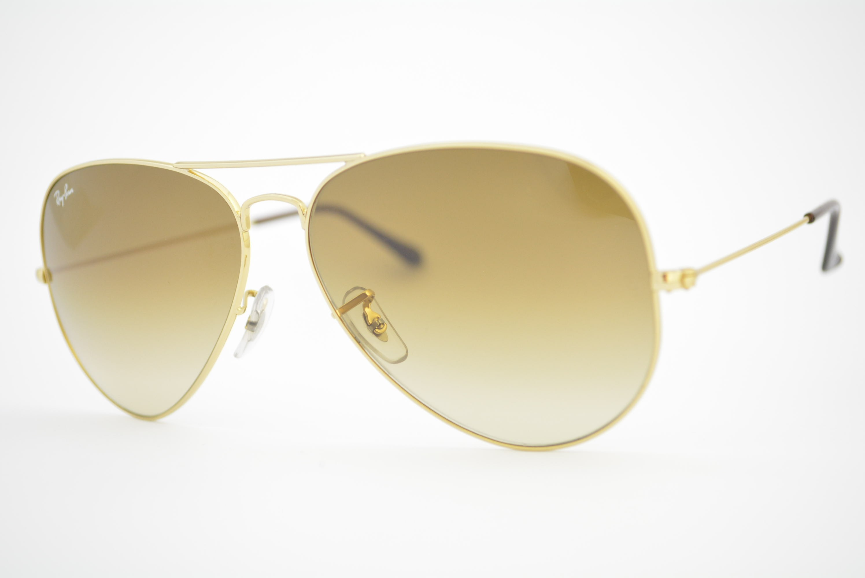óculos de sol Ray Ban aviator large mod rb3025L 001 51 tamanho 58 ... 6952bc6ebe