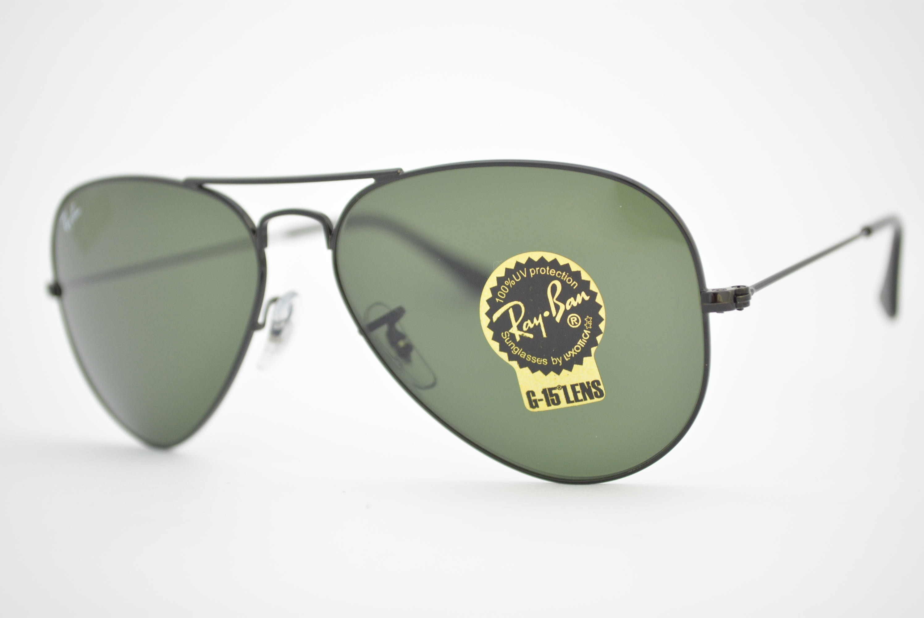 óculos de sol Ray Ban aviator large mod rb3025L L2823 tamanho 58 ... 96ce7f83f1