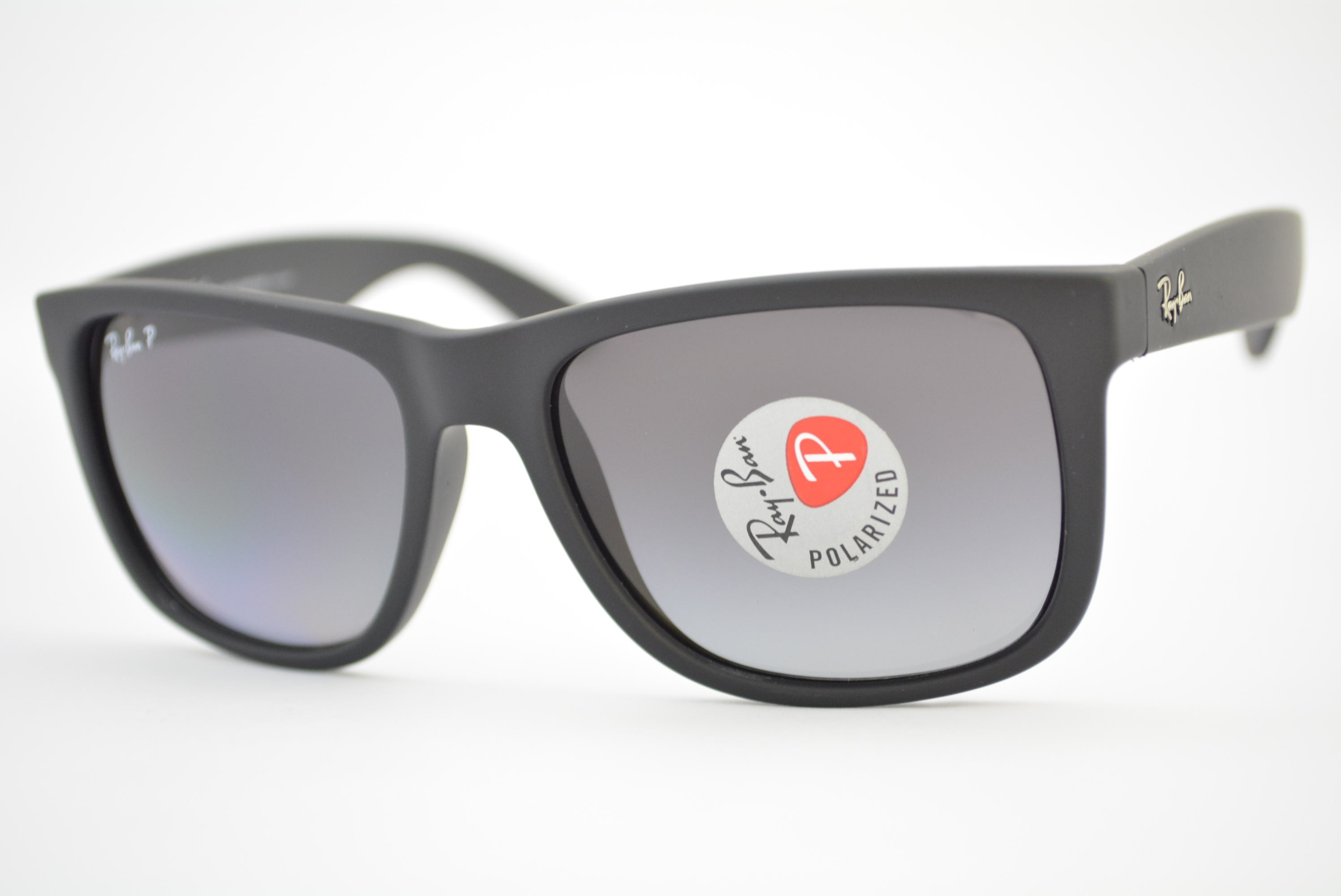 0486aaf32a óculos de sol Ray Ban mod rb4165L Justin 622/t3 polarizado tamanho ...