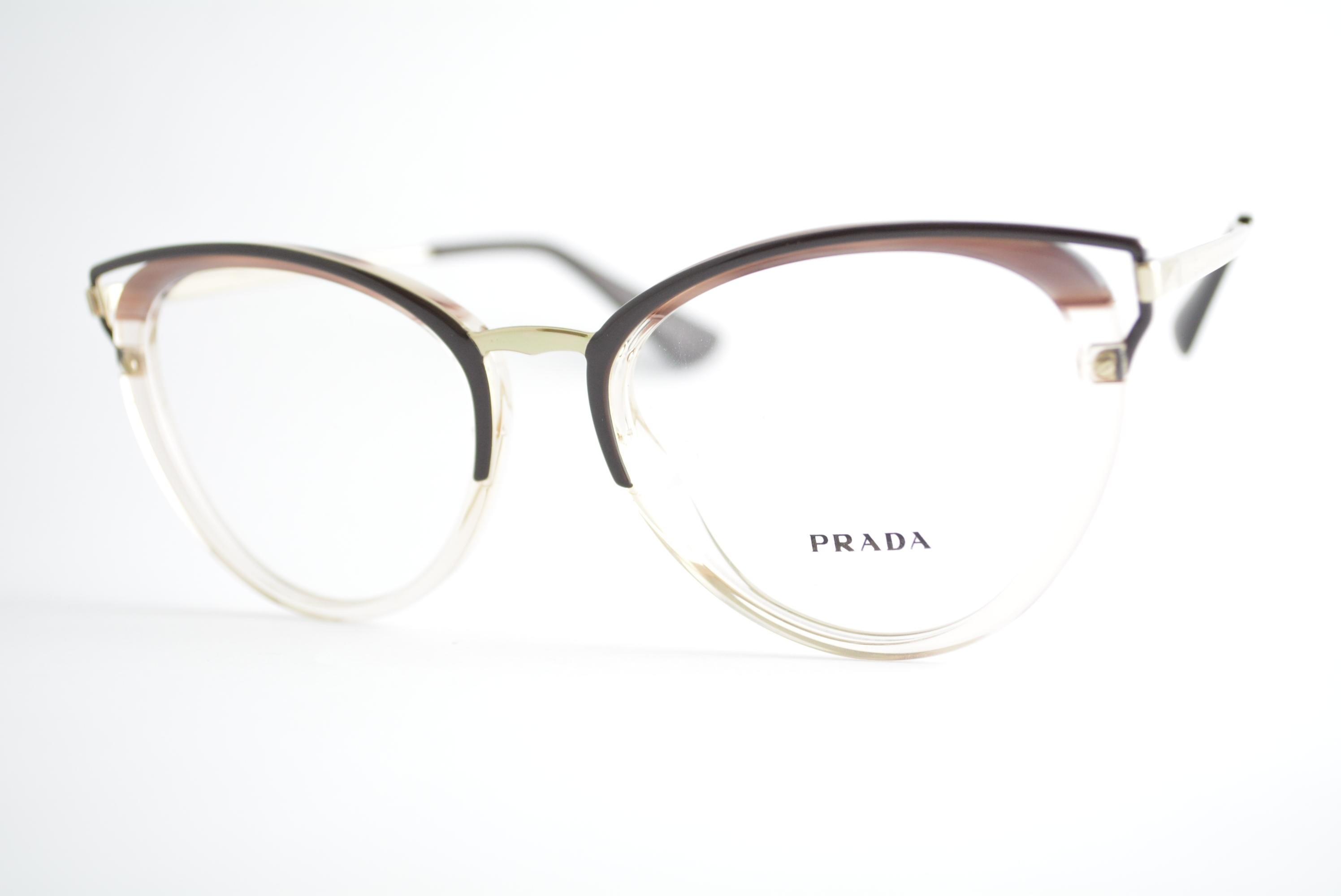 armação de óculos Prada mod vpr53U LMN-1O1