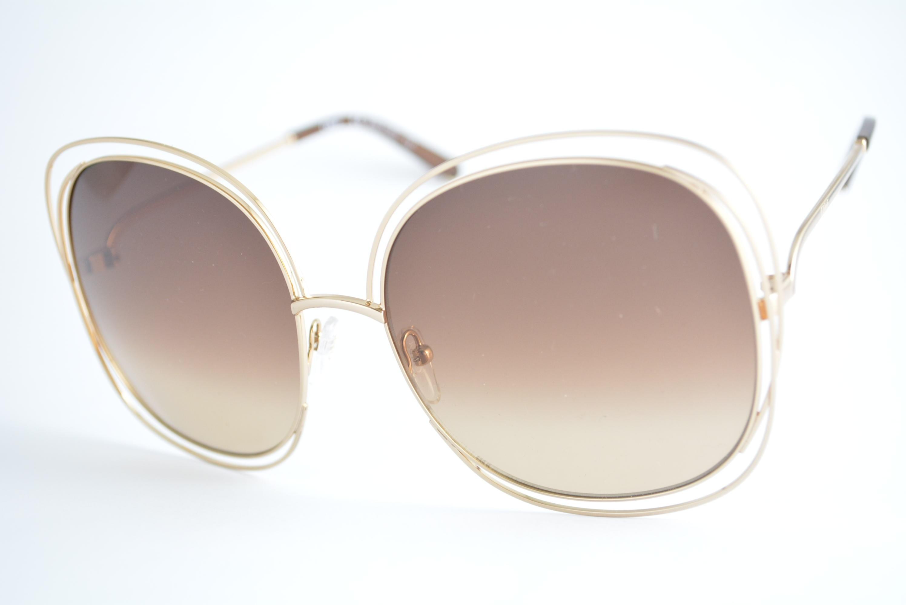 óculos de sol Chloé Carlina mod ce126s 784