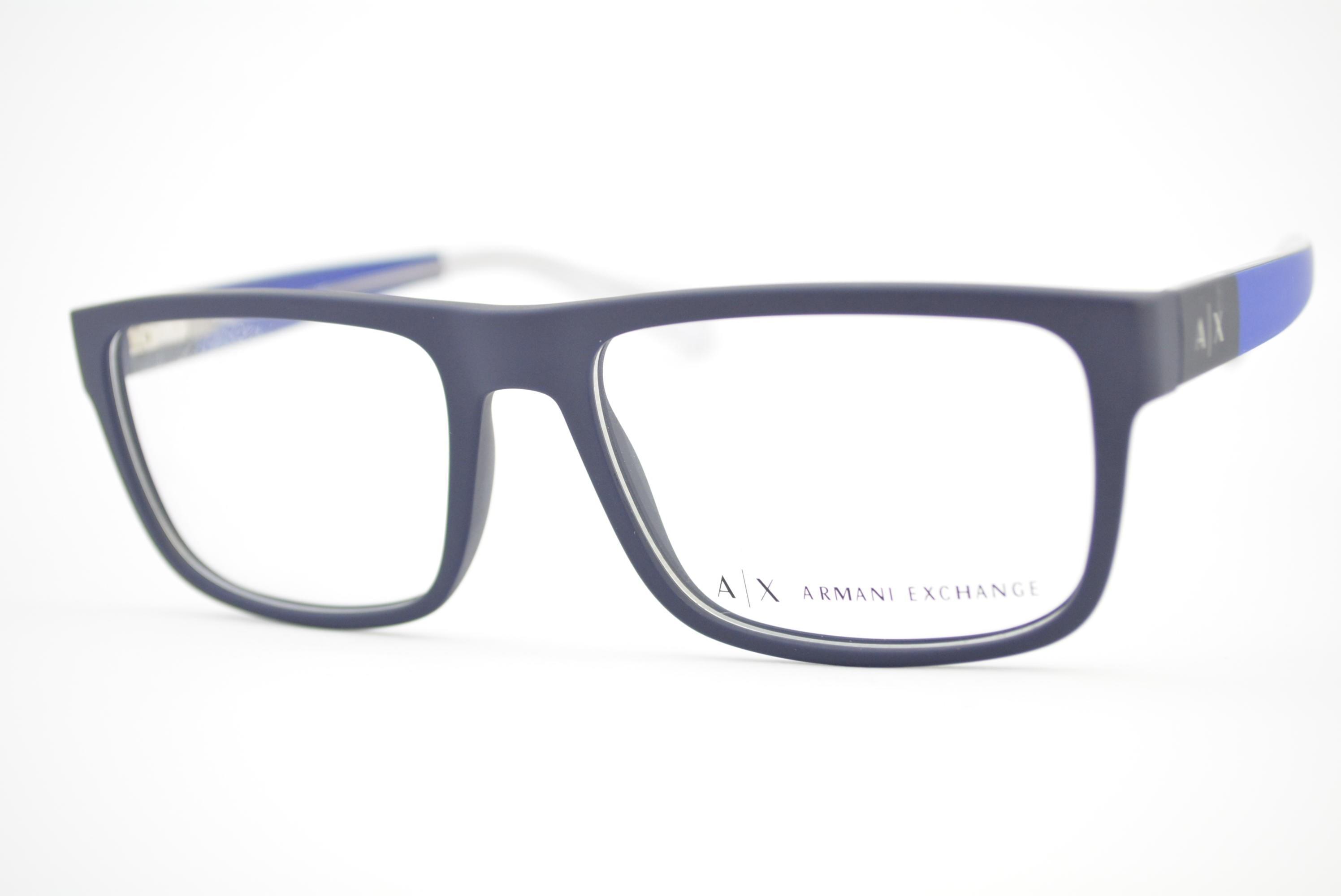 e91ea3efb armação de óculos Armani Exchange mod ax3035 8157 Ótica Cardoso