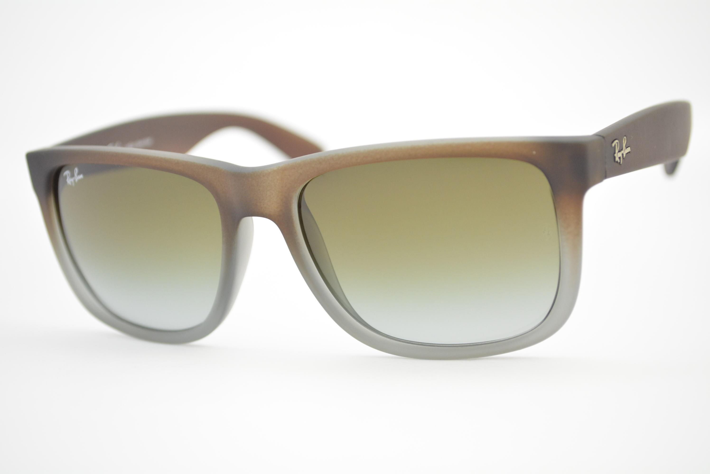 f269f73e32d3c óculos de sol Ray Ban mod rb4165L Justin 854 7Z tamanho 55 Ótica Cardoso
