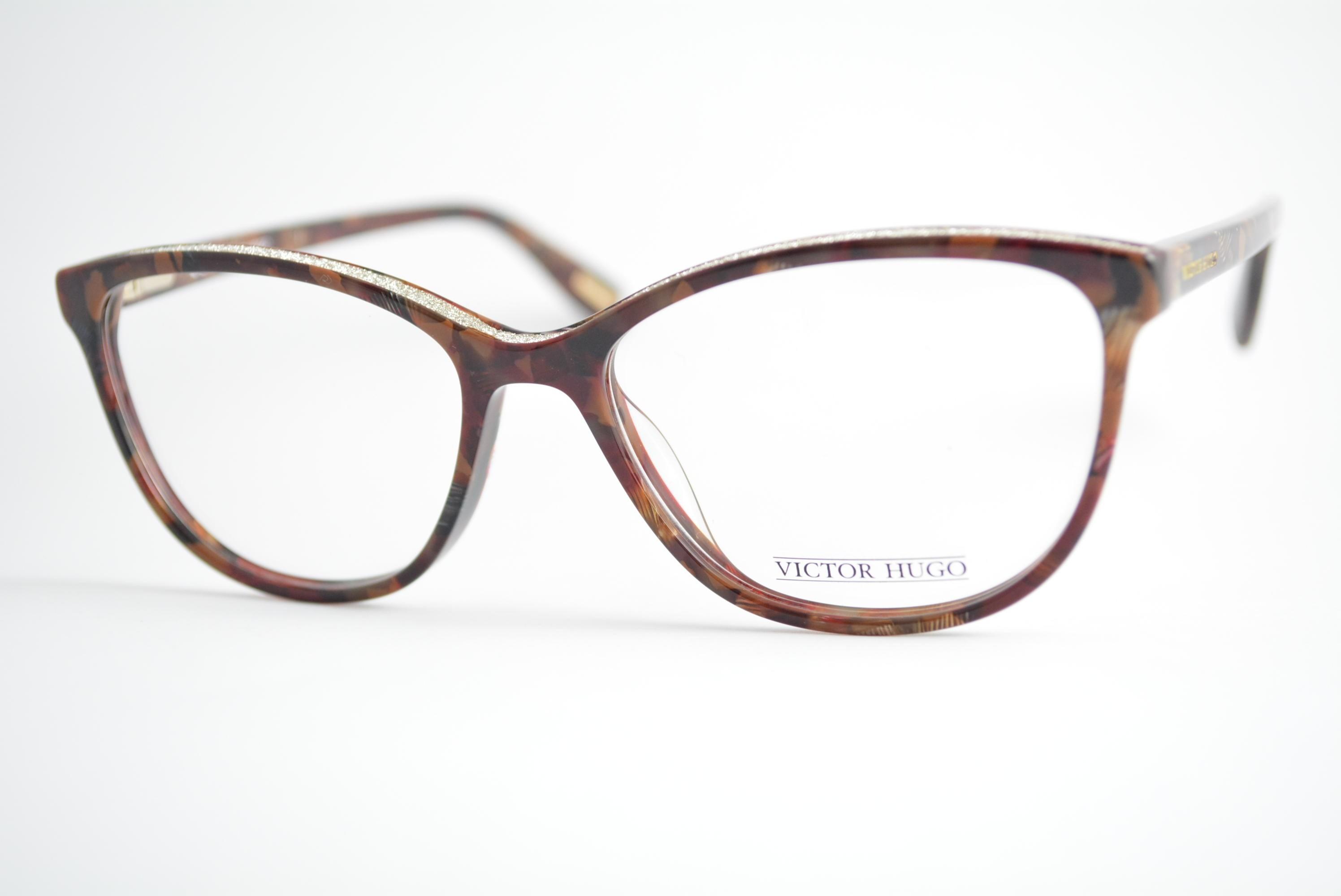armação de óculos Victor Hugo mod vh1769 col.0713