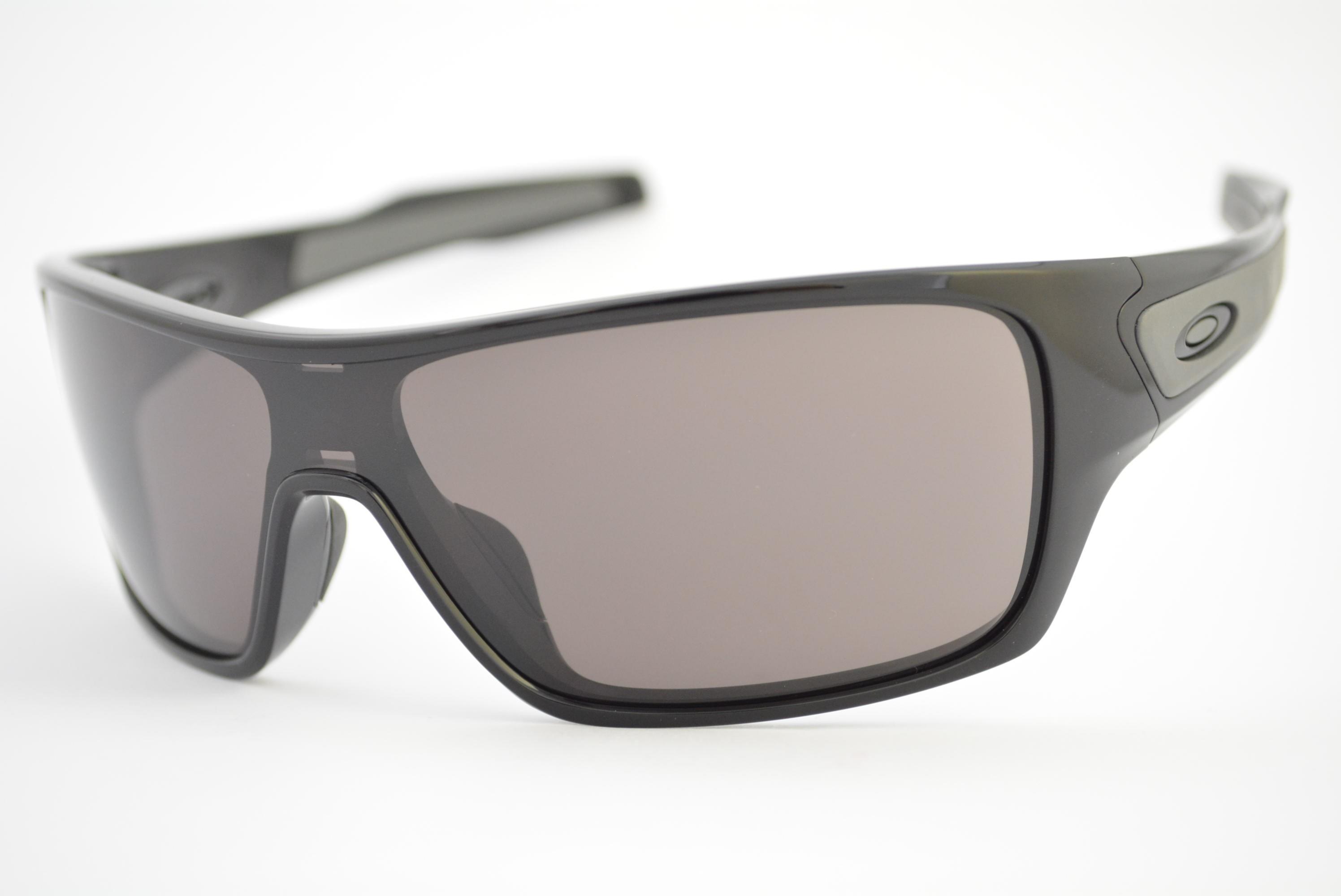 óculos de sol Oakley mod Turbine Rotor polished black w warm grey 009307-01 632e6515c92