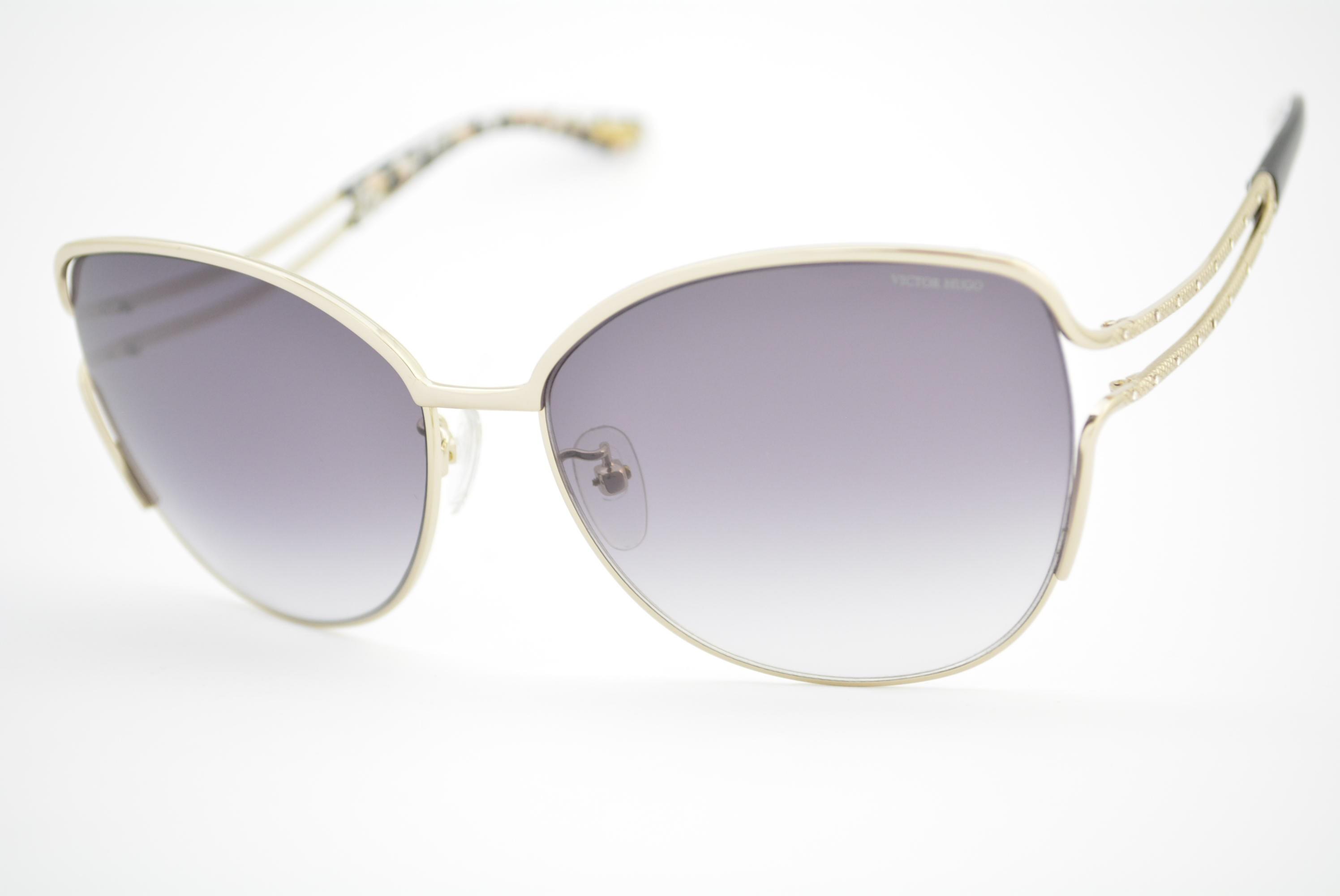 81284beed0569 óculos de sol Victor Hugo mod sh1235s col.300F Ótica Cardoso
