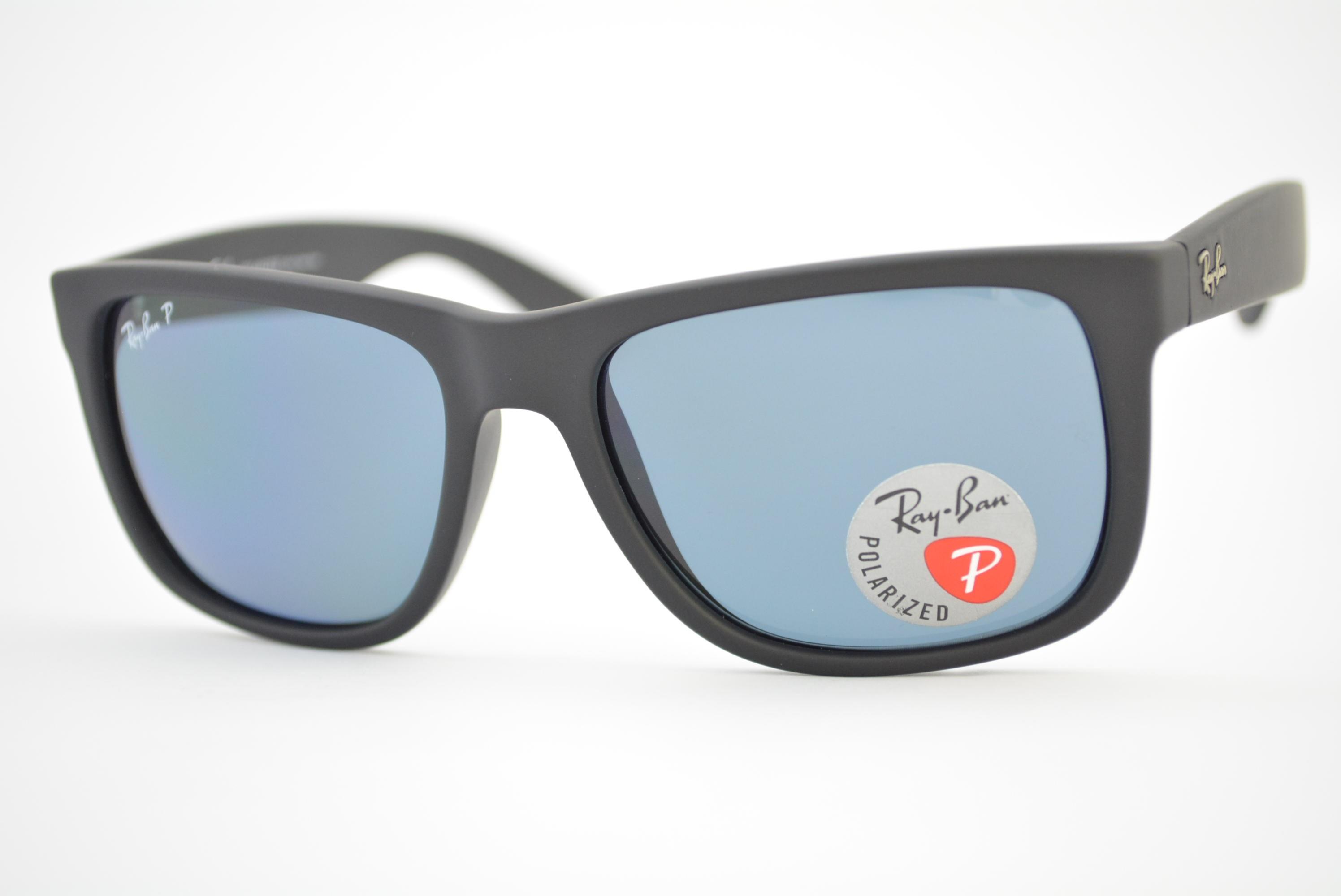 ca11951c6ca4a óculos de sol Ray Ban mod rb4165L Justin 622 2v polarizado tamanho ...