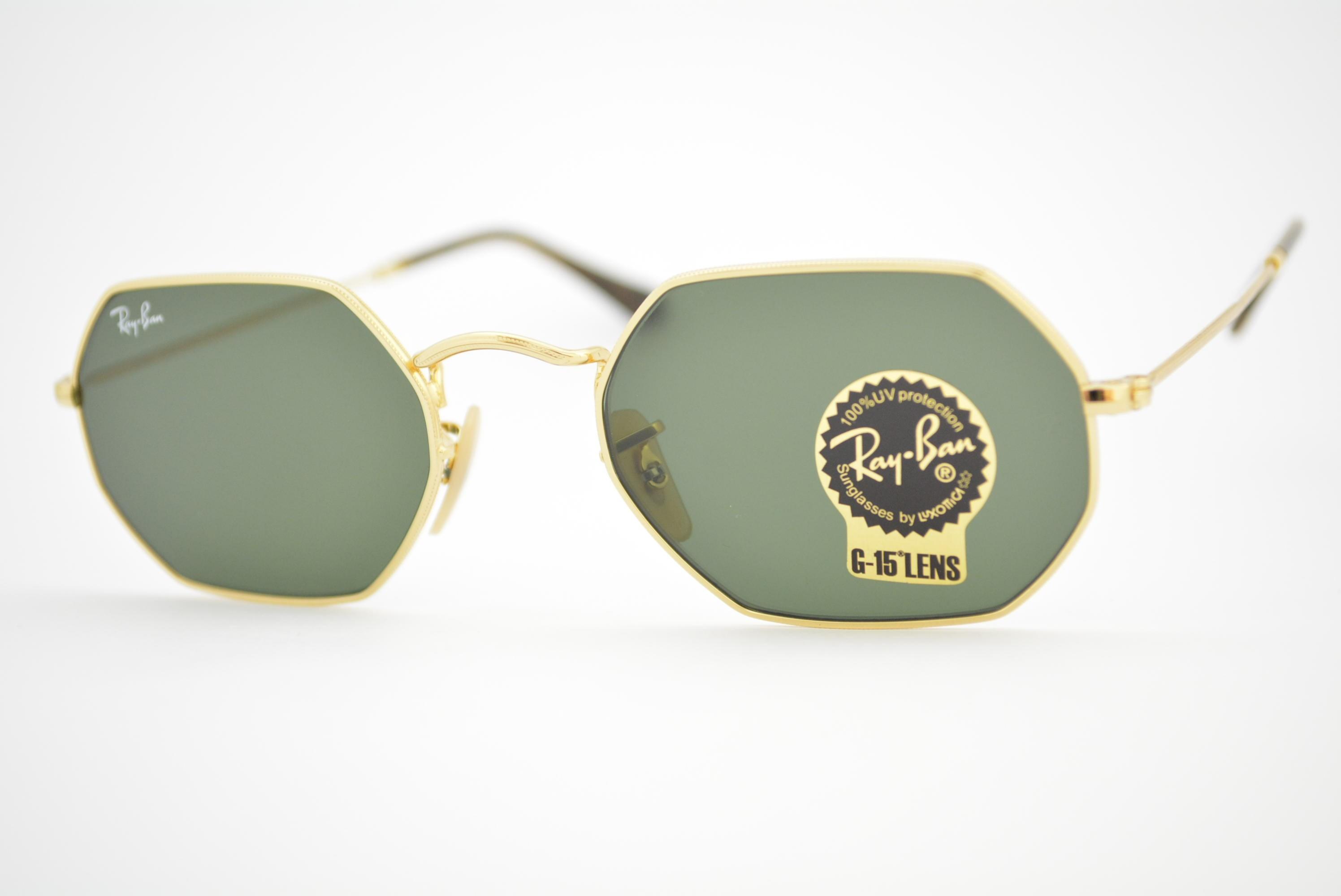óculos de sol Ray Ban Octagonal mod rb3556-n 001 Ótica Cardoso 65a1992ece