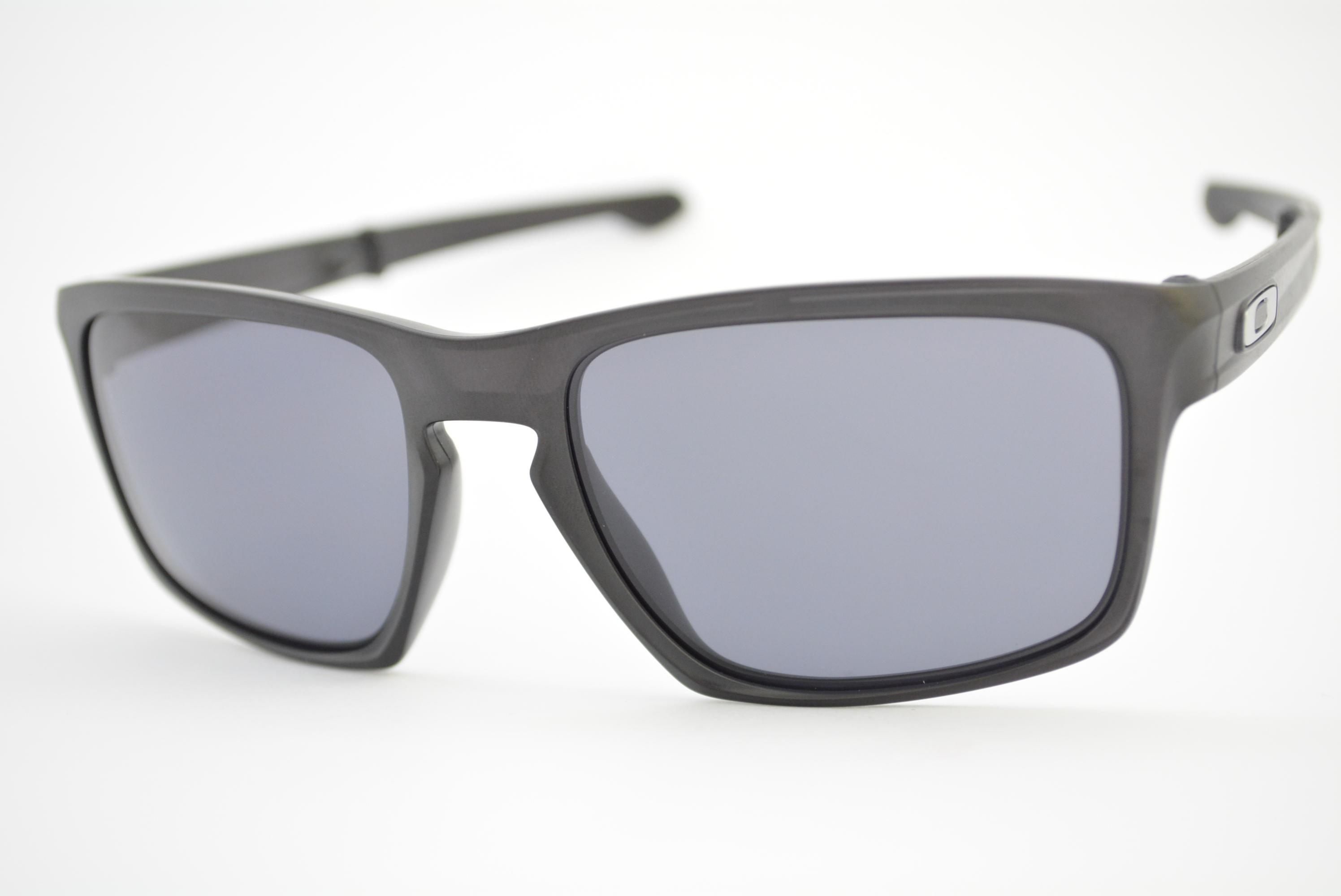 d62fdcf03 óculos de sol Oakley mod Sliver F matte black w/grey 009246-01 Ótica ...