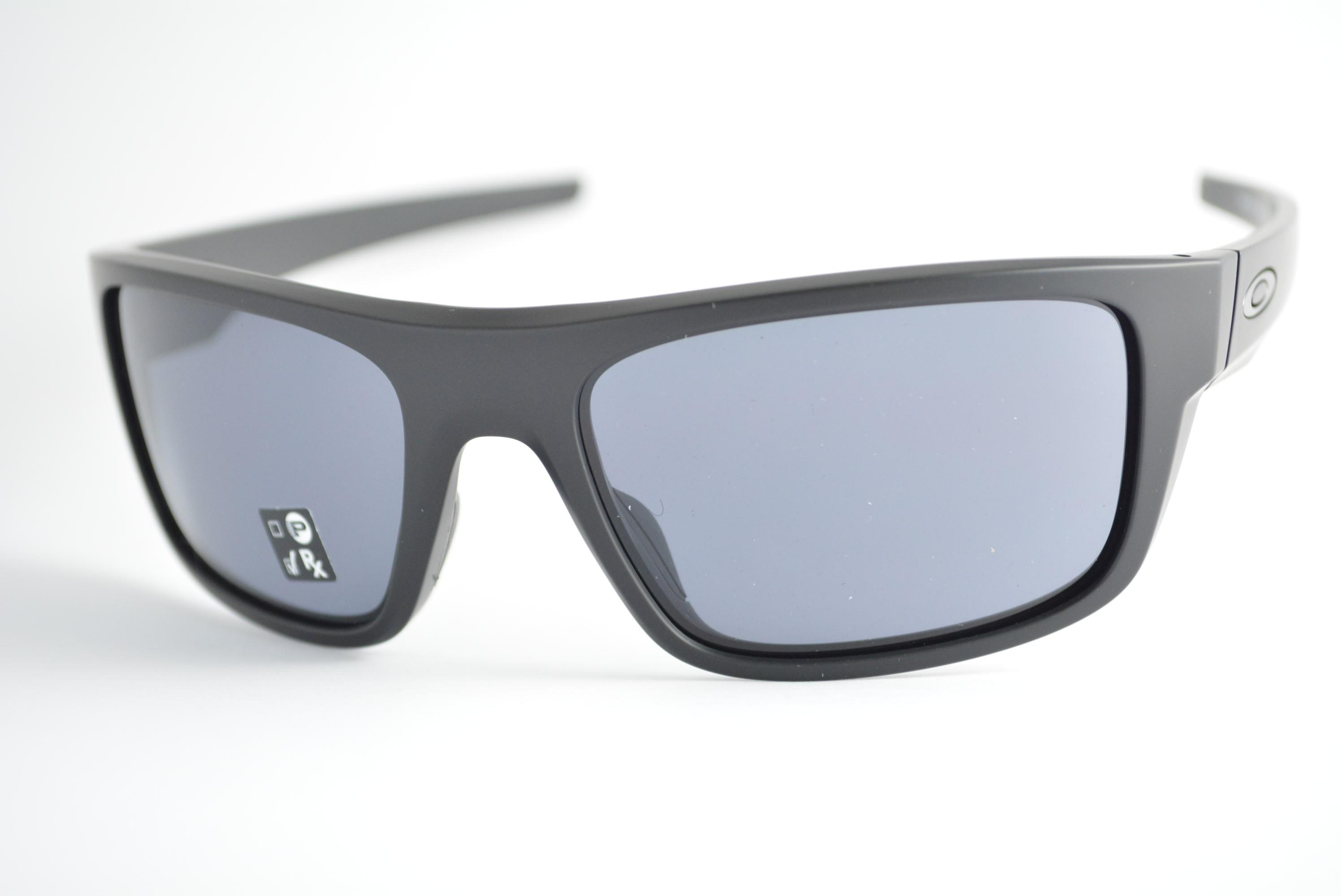 óculos de sol Oakley mod Drop Point matte black w/grey 9367-0160