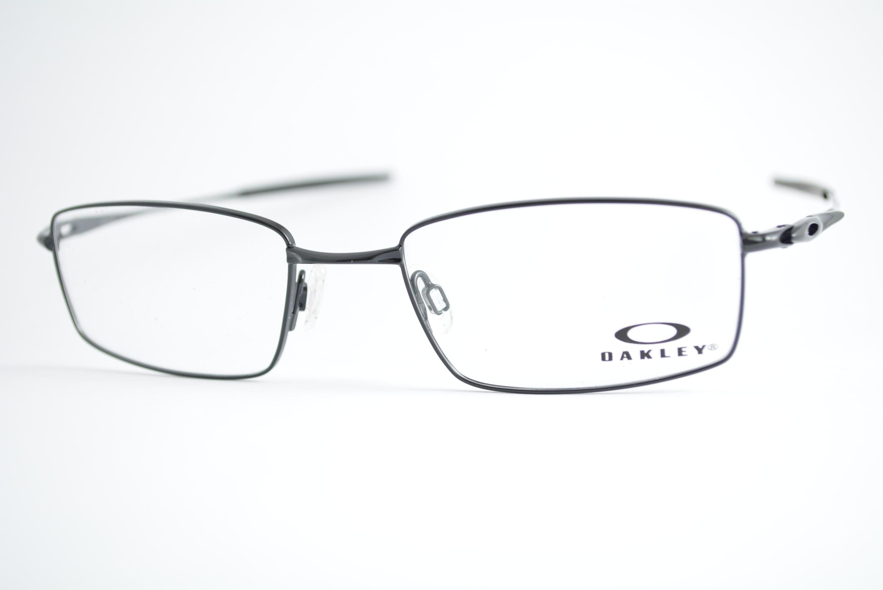 3db061a9264 armação de óculos Oakley mod ox3136-0253 polished black Ótica Cardoso