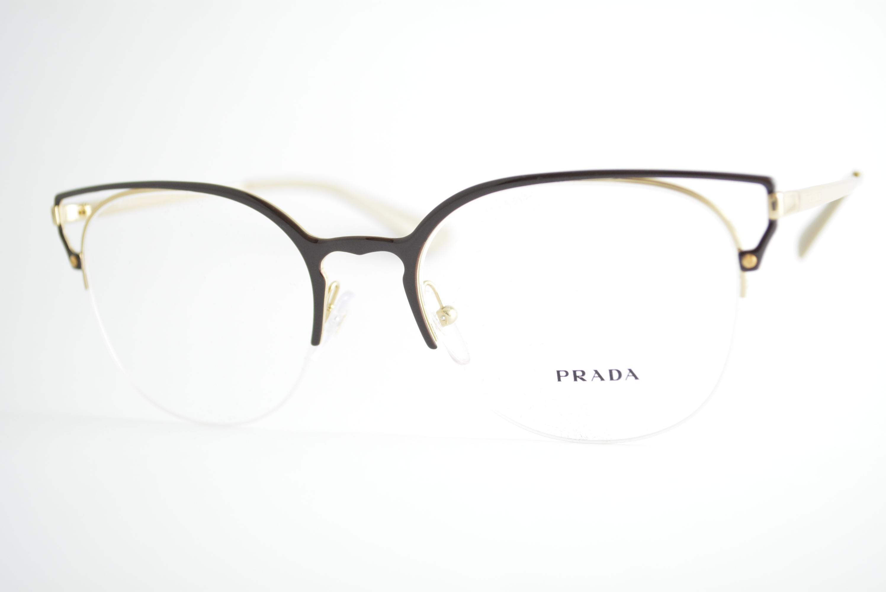 7ce50f47bef00 armação de óculos Prada mod vpr64U 98R-1O1 Ótica Cardoso