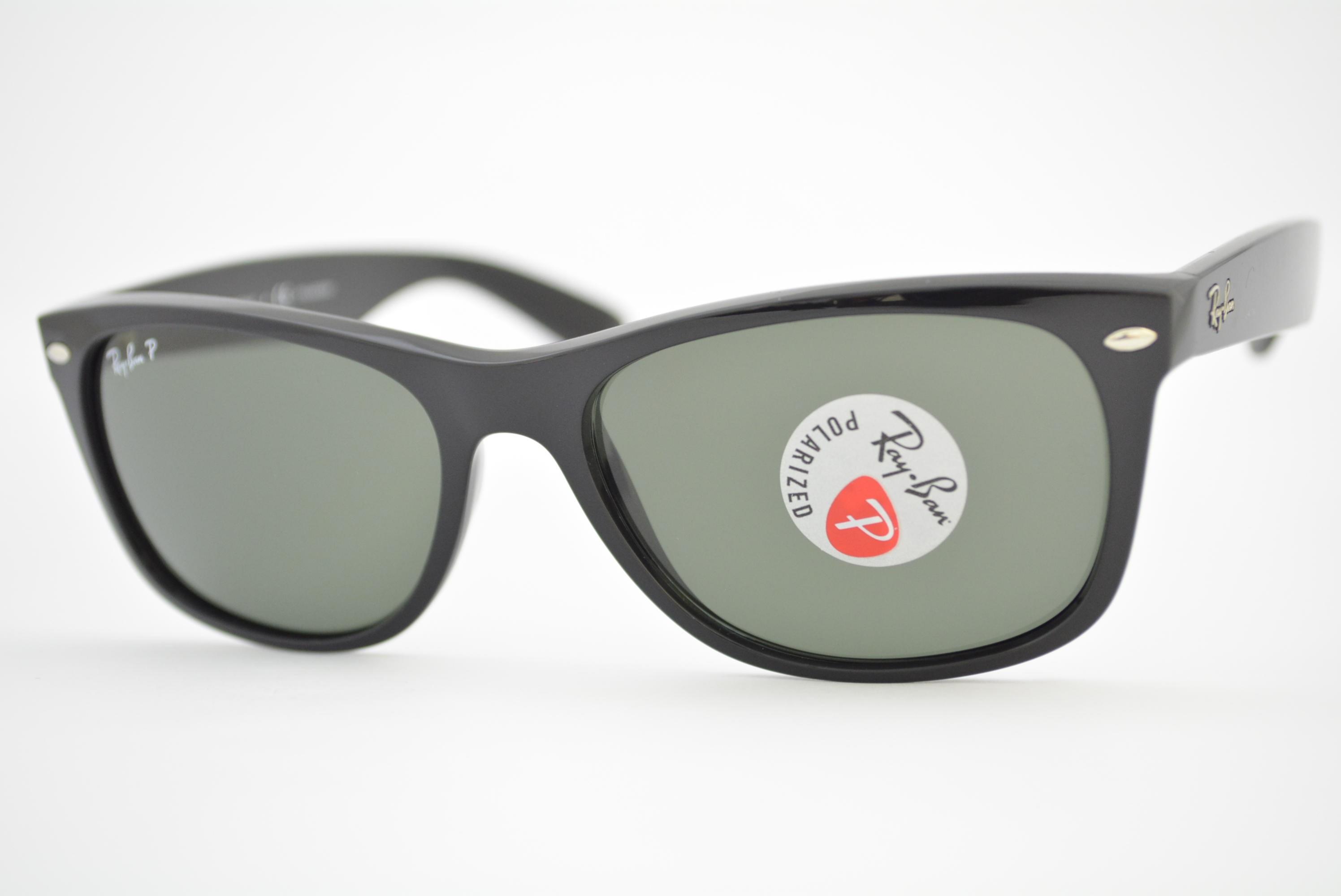 85a9a5a0ee óculos de sol Ray Ban New Wayfarer mod rb2132 901 58 polarizado ...