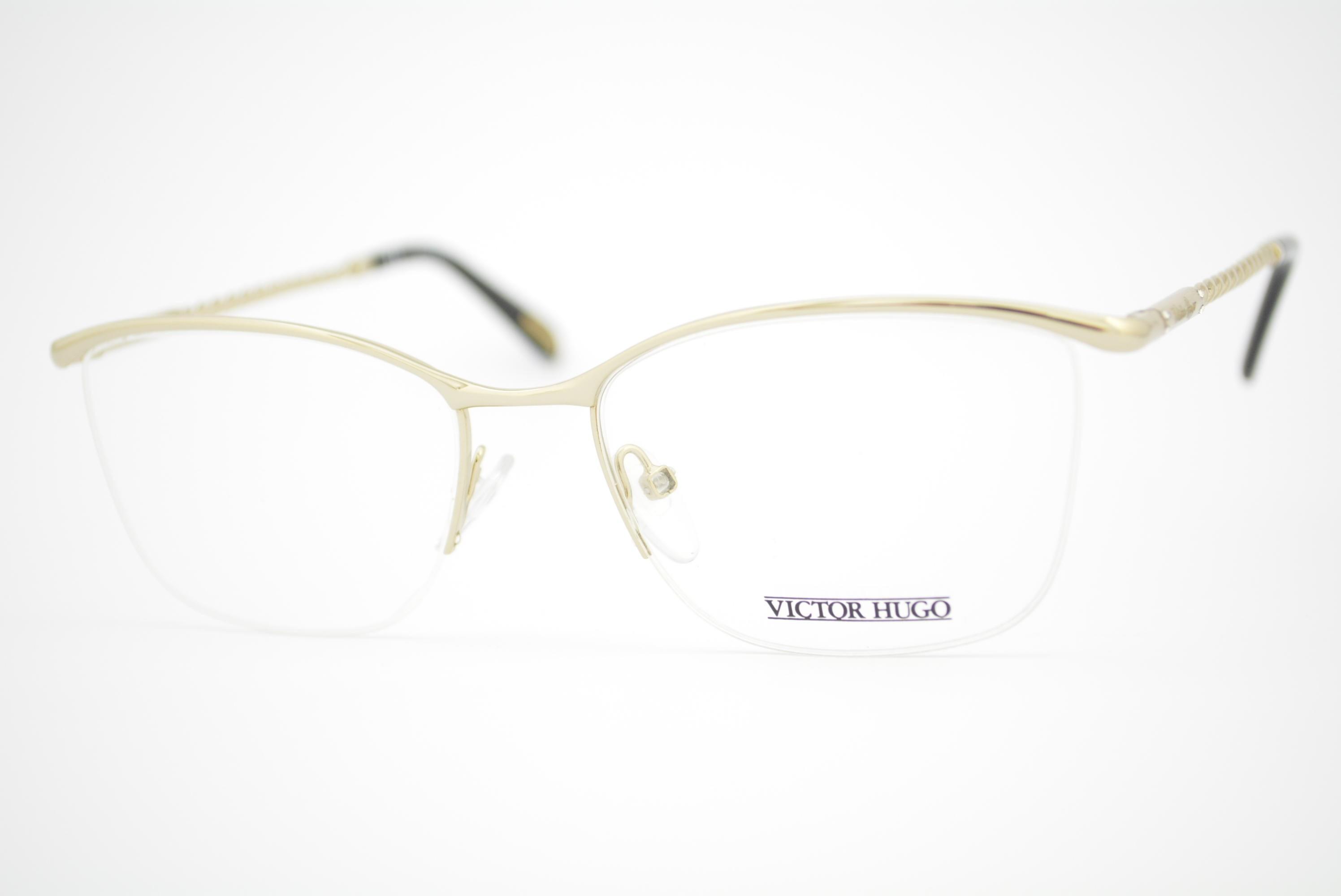 043926e14 armação de óculos Victor Hugo mod vh1230s col.0300 Ótica Cardoso
