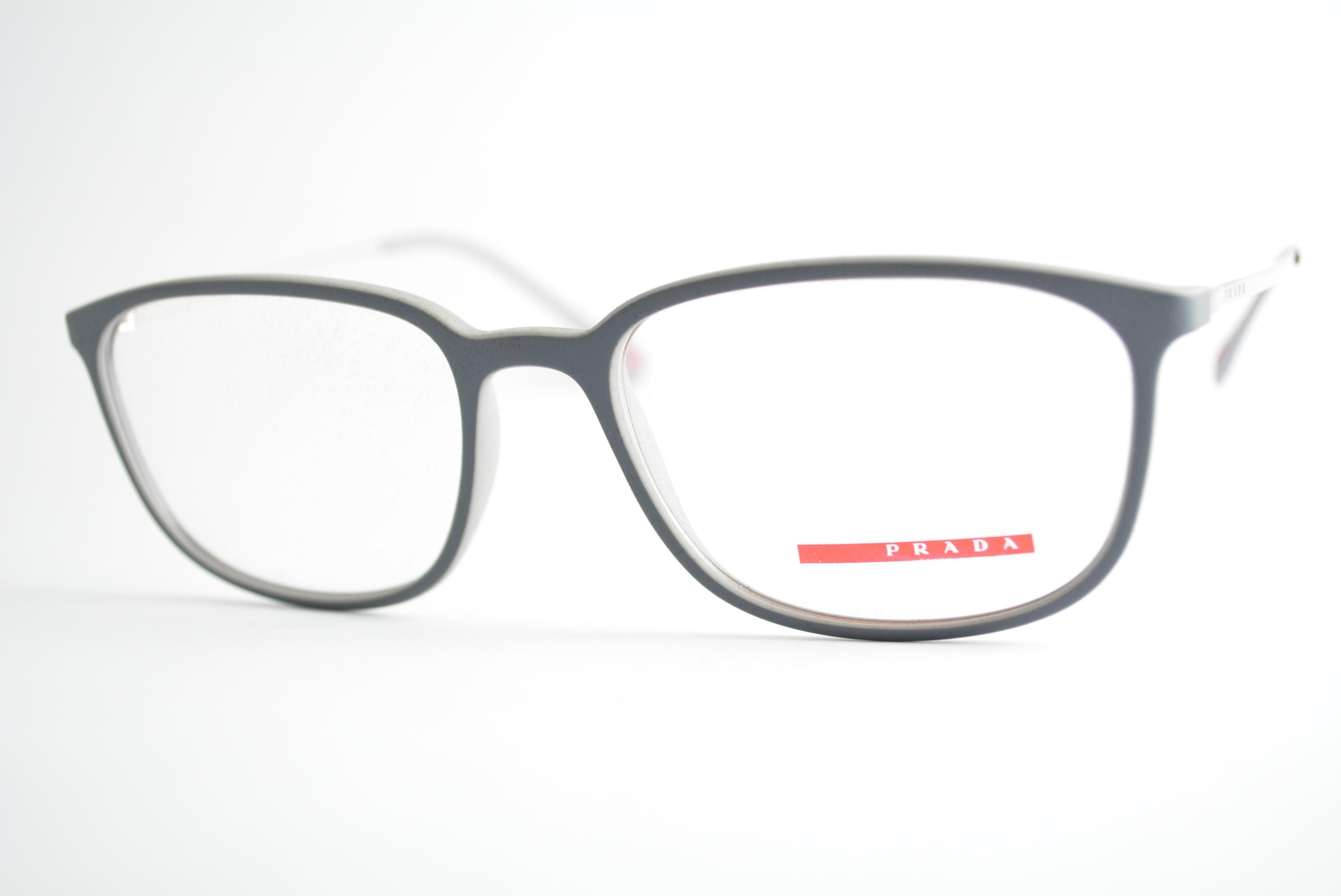 ... armação de óculos Prada Linea Rossa mod vps03H VIM-1O1 Ótica Cardoso  fc491b21ef8371 ... 6fb88d858e