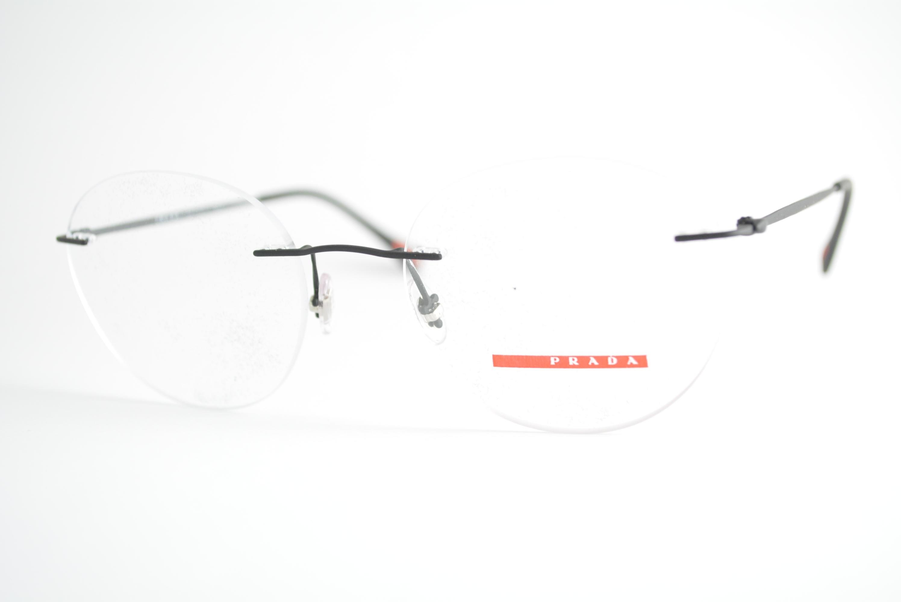 b5e3089c652dc armação de óculos Prada Linea Rossa mod vps52I DG0-1O1 Ótica Cardoso