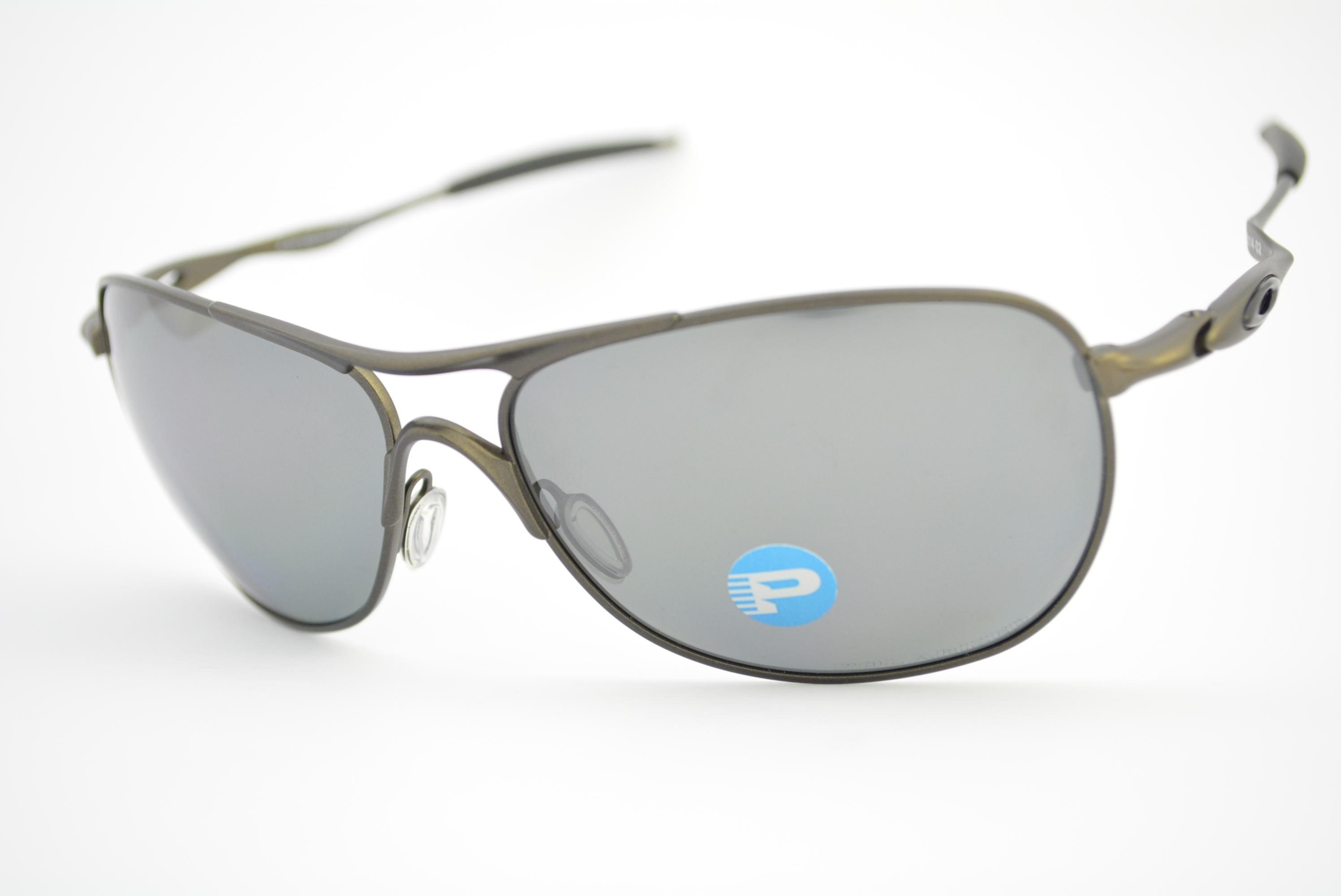 óculos de sol Oakley mod Crosshair pewter w black iridium polarized  006014-02 06b0808041