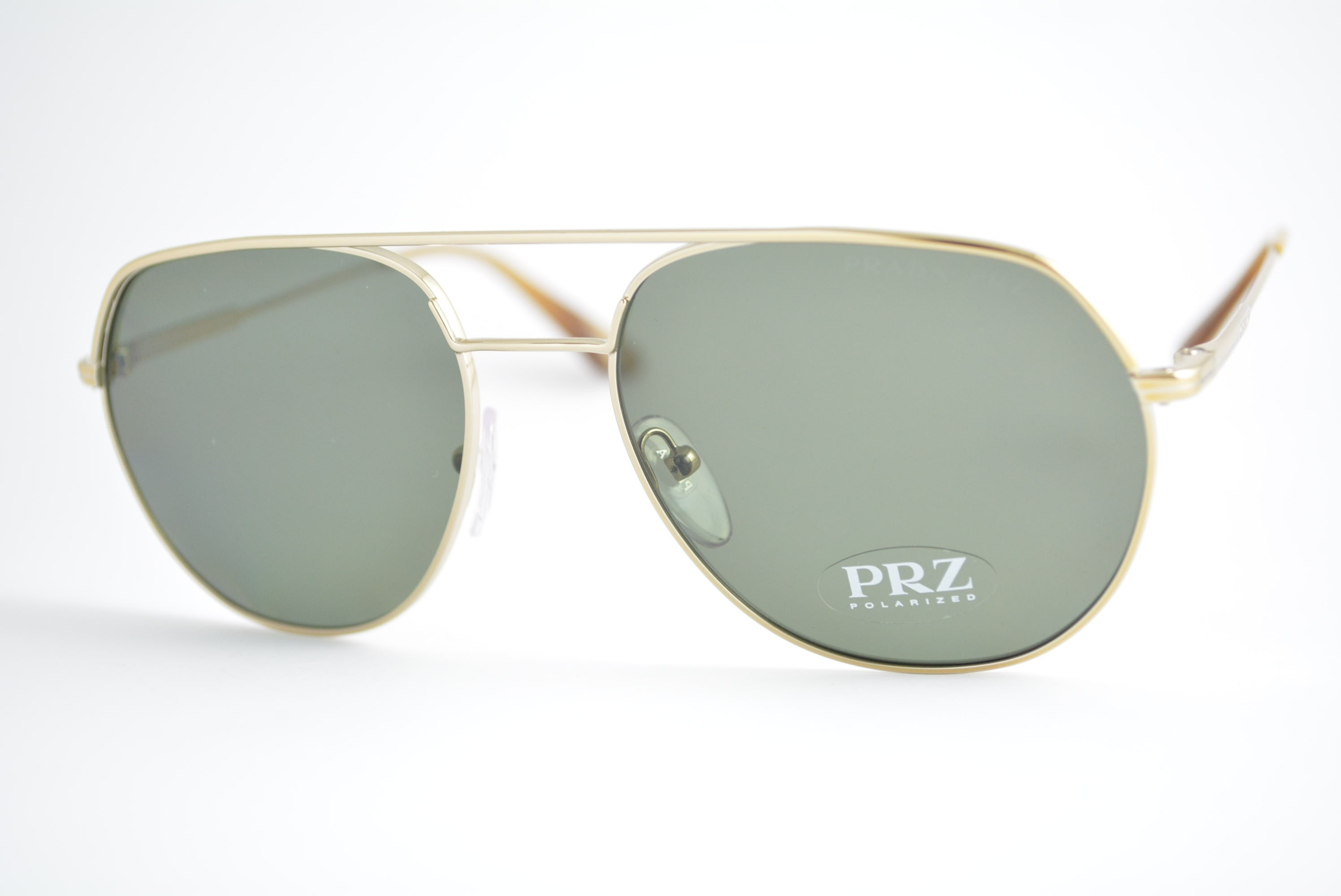 f728589323476 óculos de sol Prada mod spr55U ZVN-198 Polarizado Ótica Cardoso