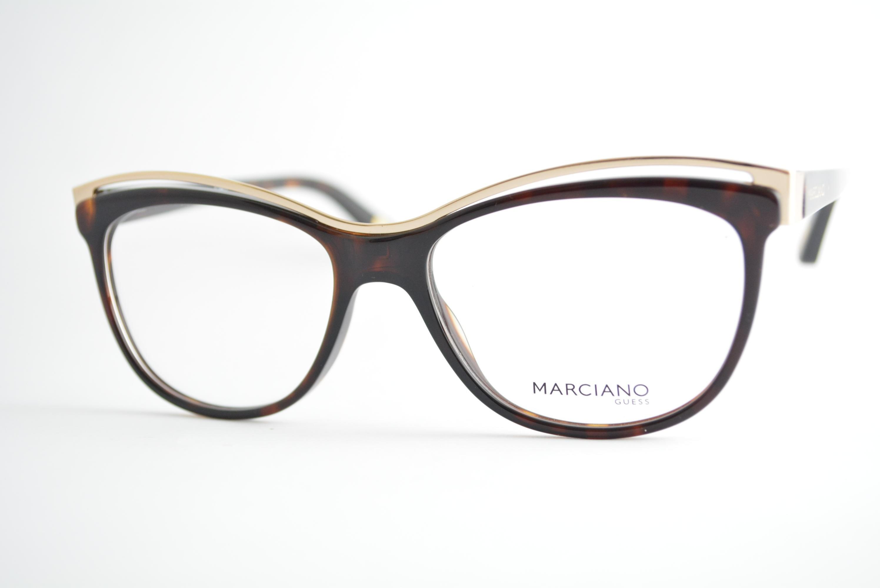 armação de óculos Guess by Marciano mod gm0275 052