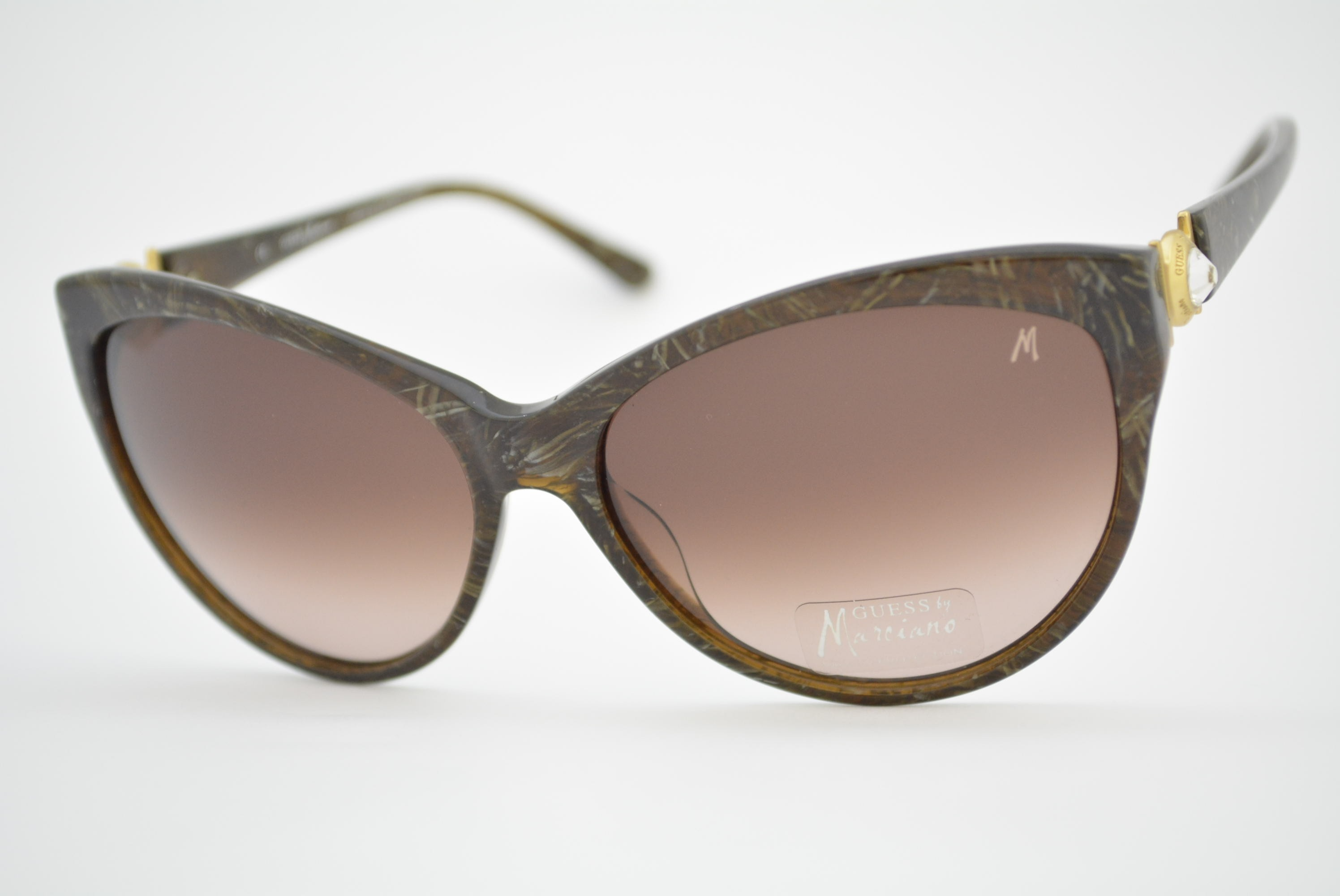 ee76577c0523b óculos de sol Guess by Marciano mod GM680 brn-34 Ótica Cardoso