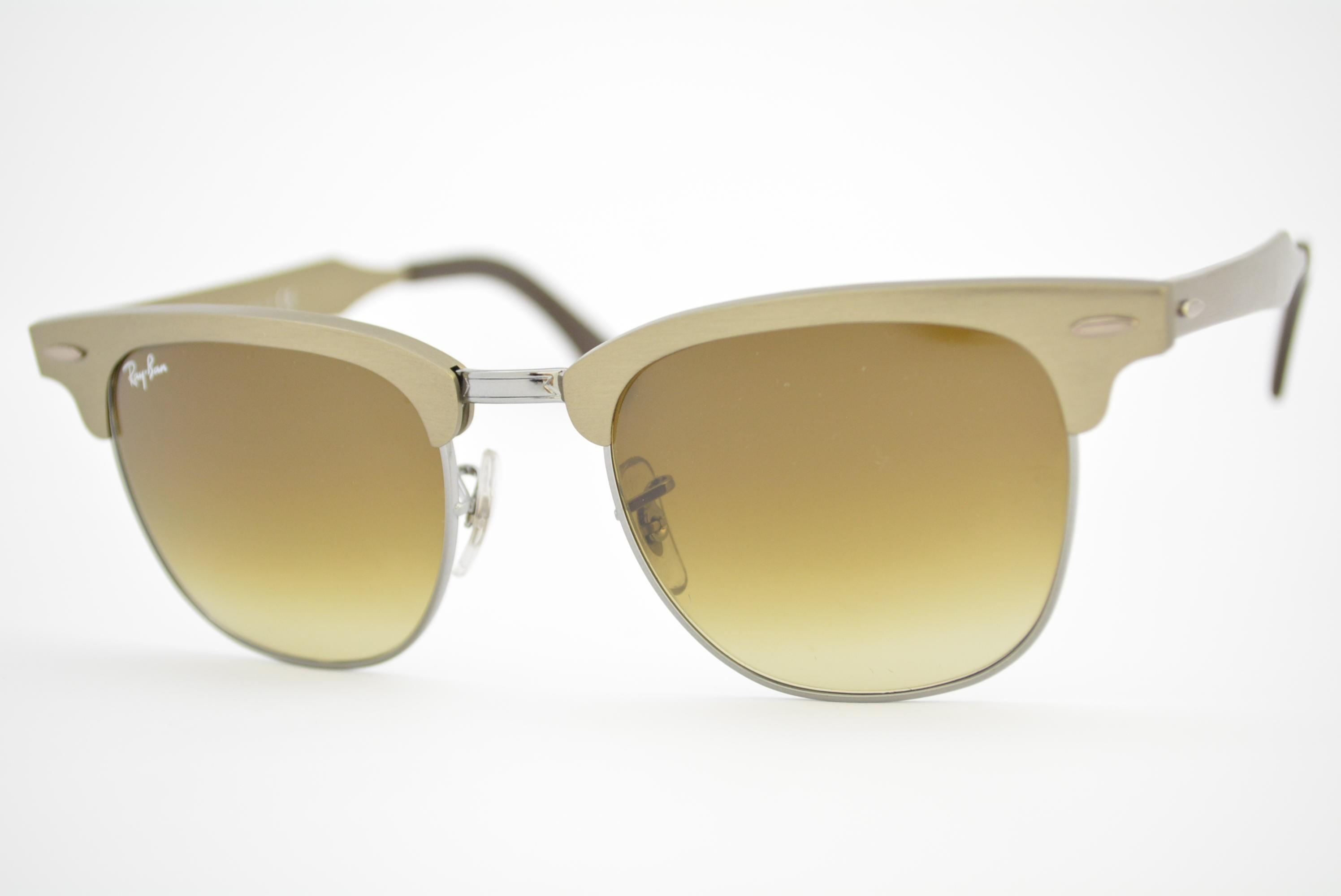 óculos de sol Ray Ban Clubmaster Aluminium mod rb3507 139/85