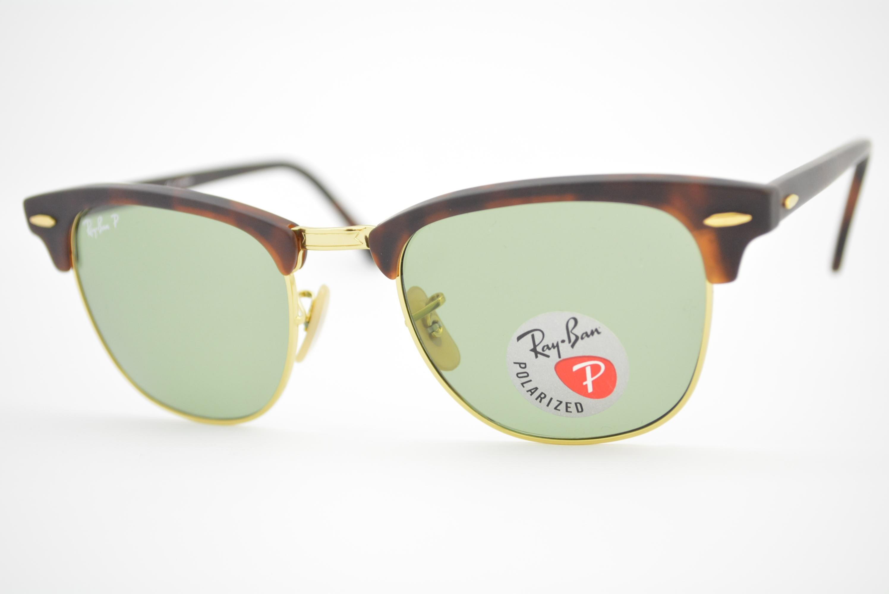 10e362084 óculos de sol Ray Ban Clubmaster mod rb3016 1145/O5 Polarizado Ótica ...