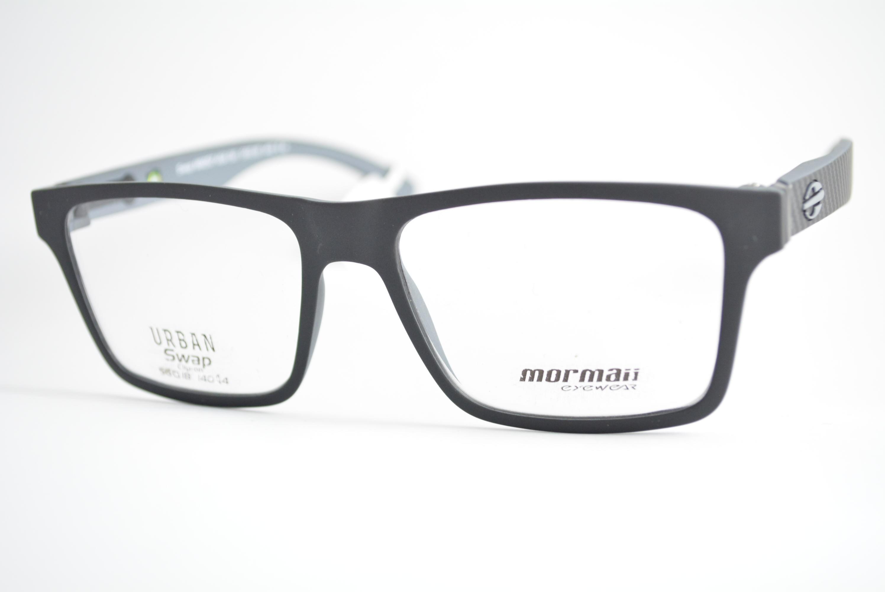 21cb21a5c armação de óculos Mormaii mod Swap m6057 aga clip on Ótica Cardoso