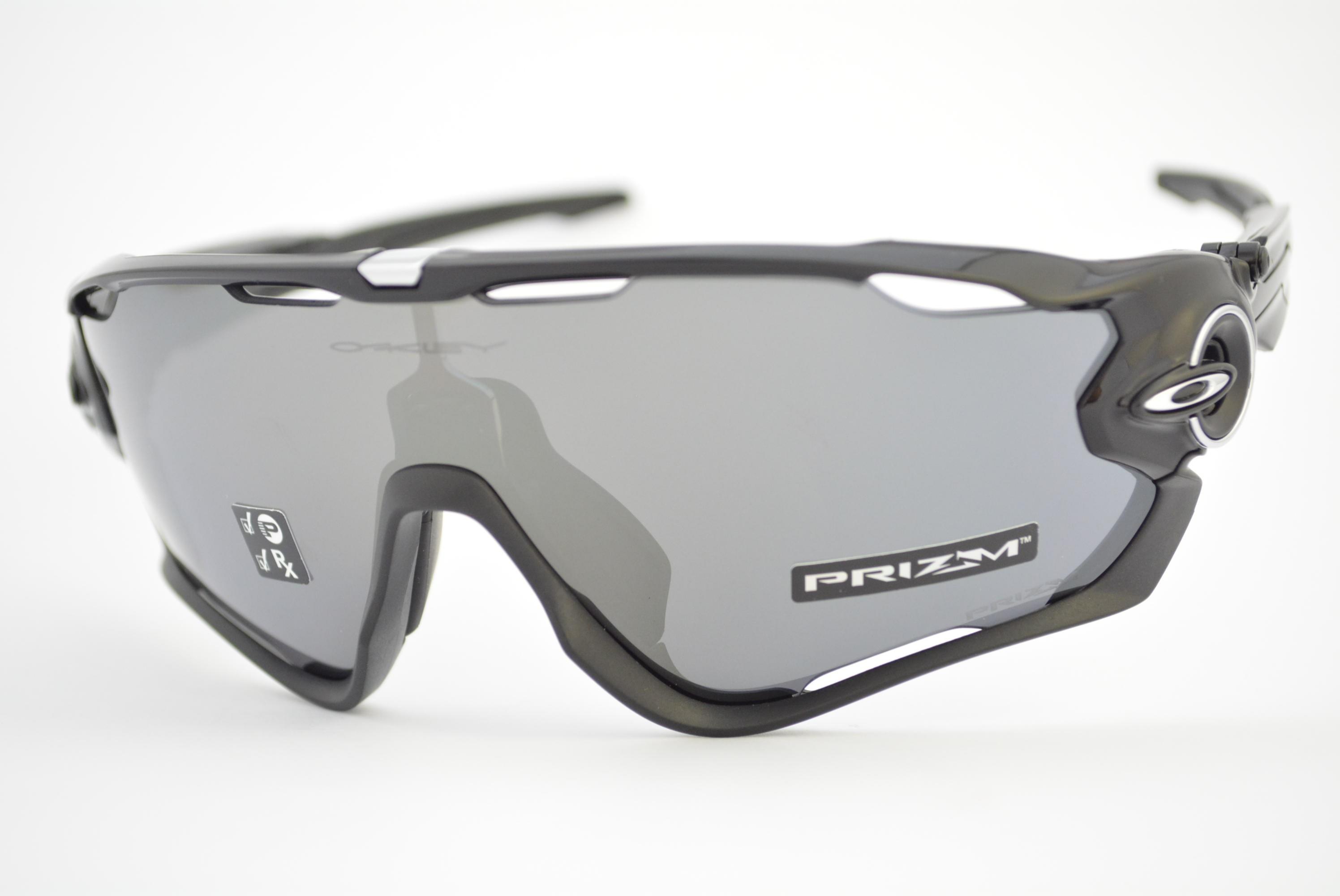 óculos de sol Oakley mod Jawbreaker polished black w prizm black polarized  9290-2831 dfe9423fabb