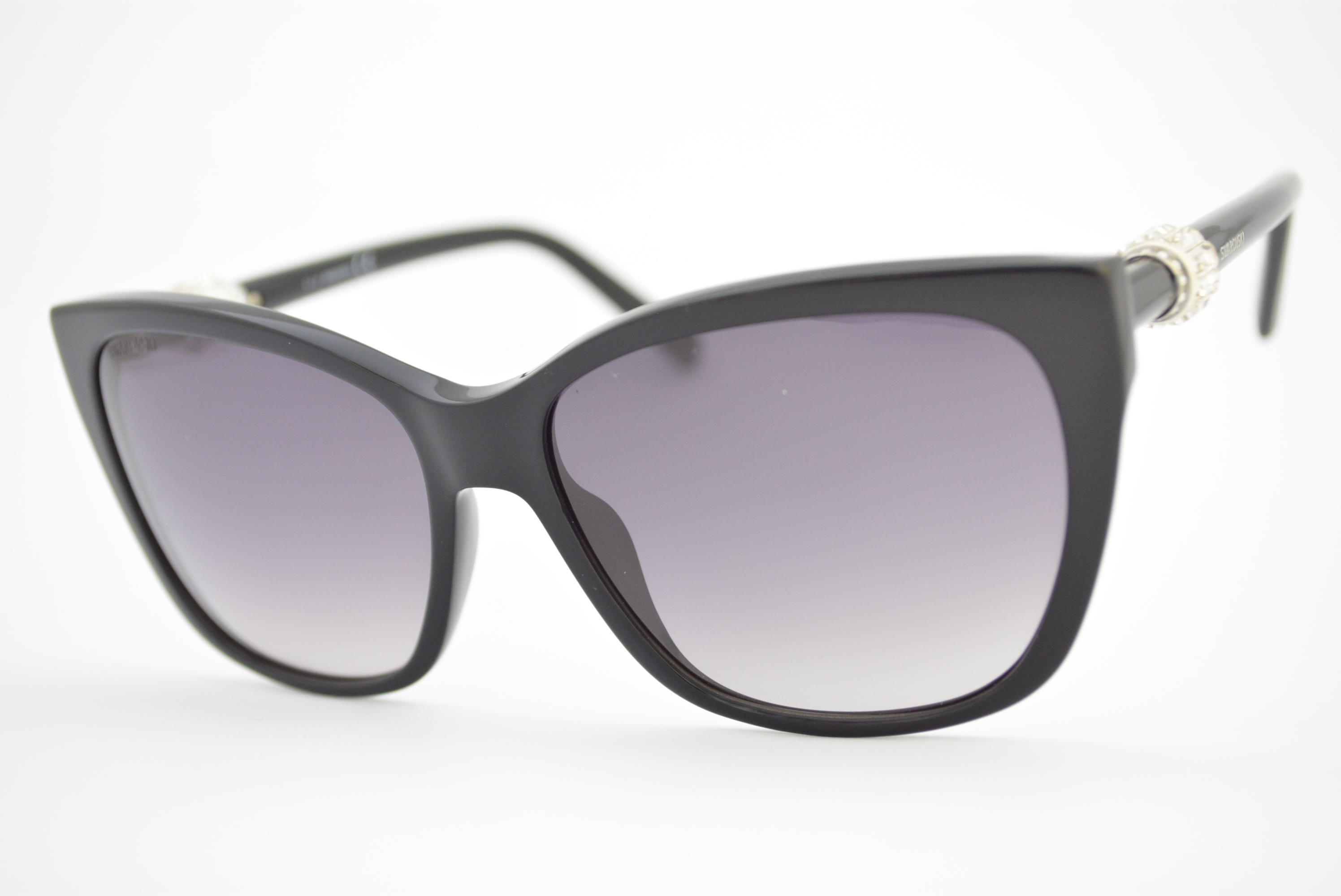 03d0401e7 óculos de sol Swarovski mod sw129 01b Ótica Cardoso