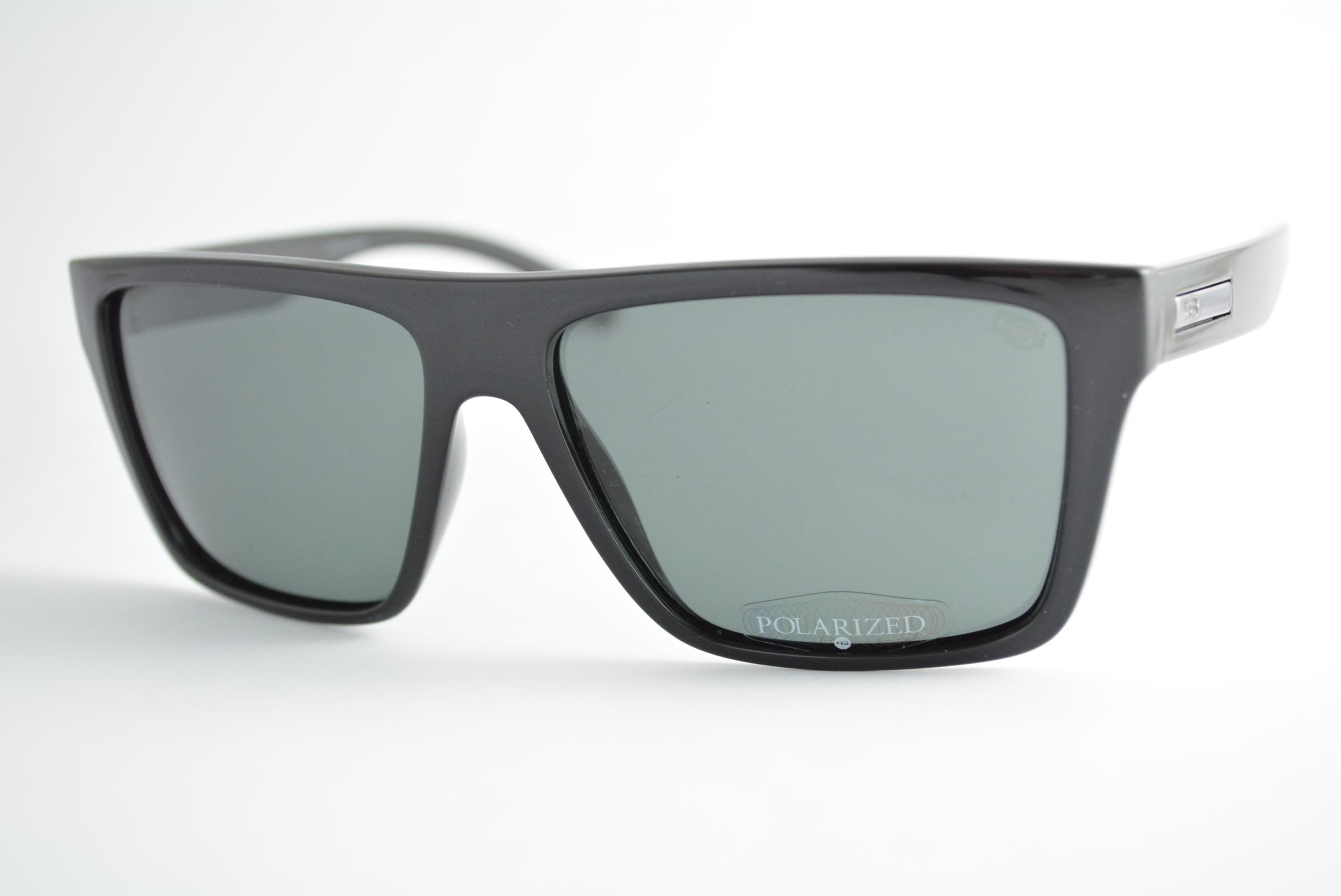 óculos de sol HB mod Floyd gloss black w/gray polarized 90117002